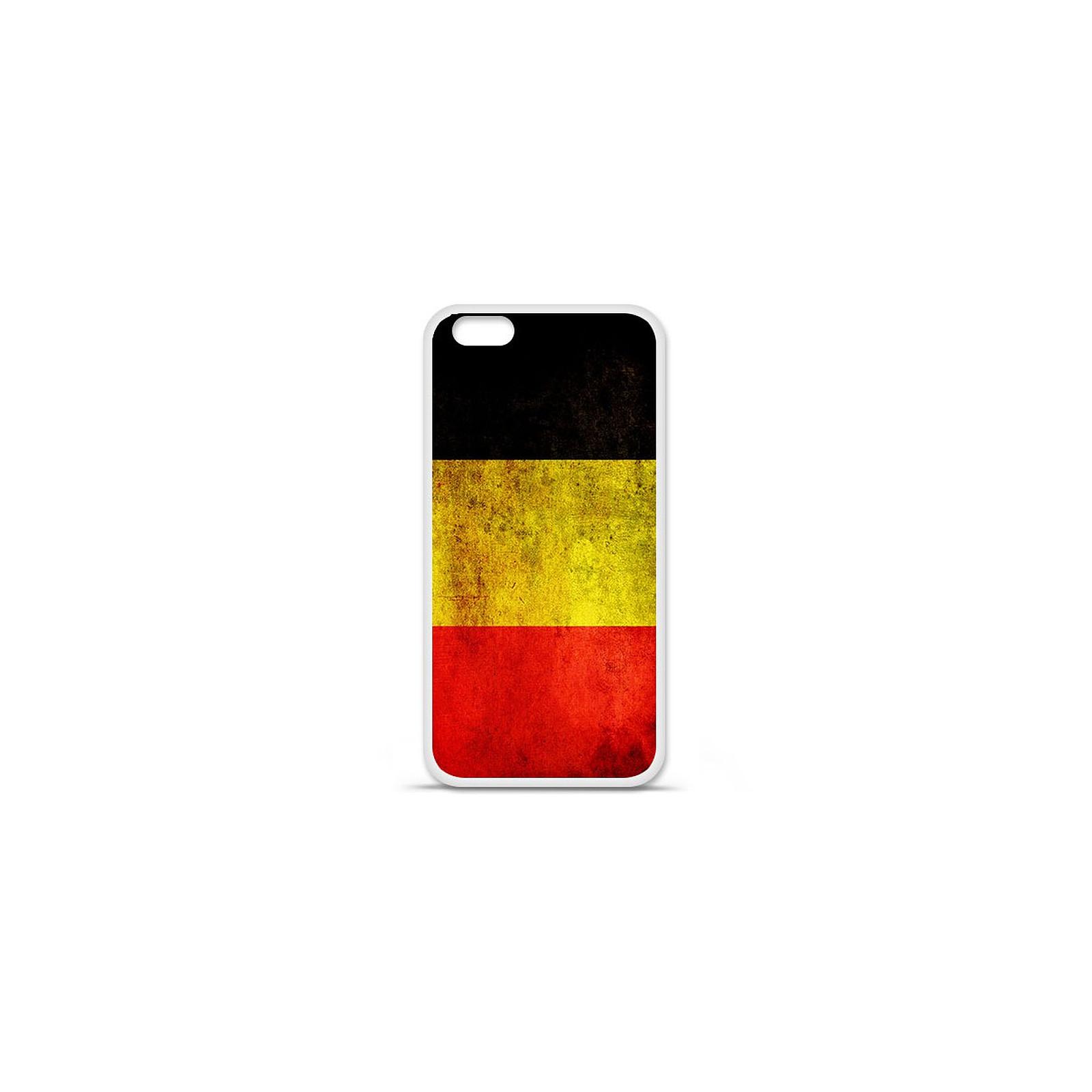 1001 Coques Coque silicone gel Apple IPhone 7 Plus motif Drapeau Belgique