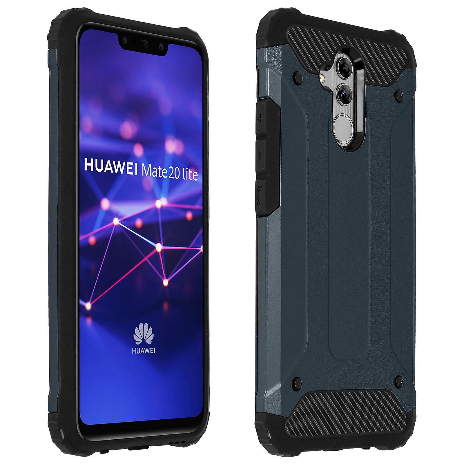 Avizar Coque Bleu Nuit pour Huawei Mate 20 lite