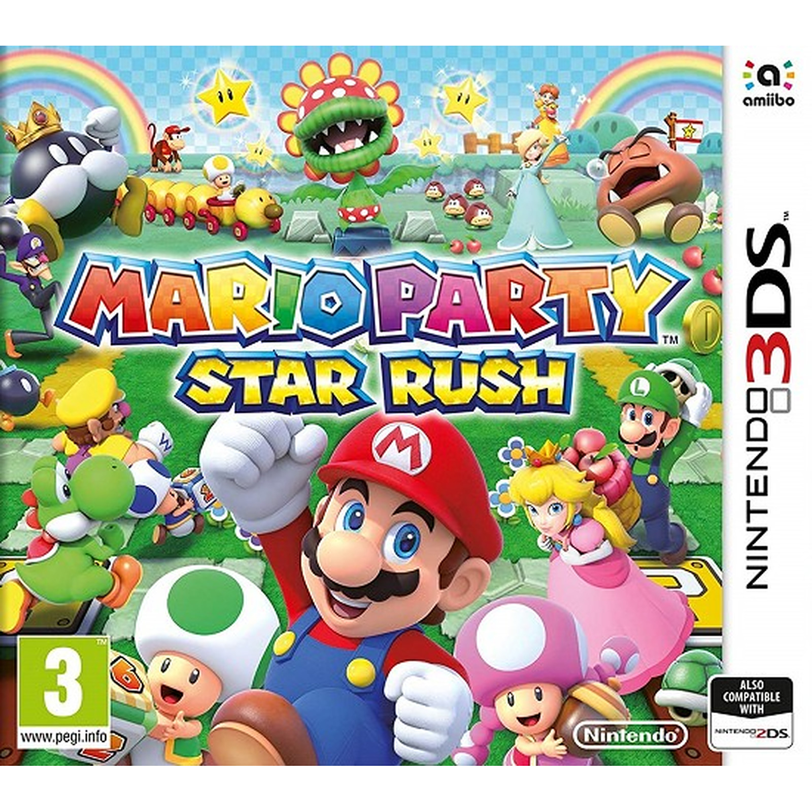 Mario Party Star Rush 3DS  (DS)
