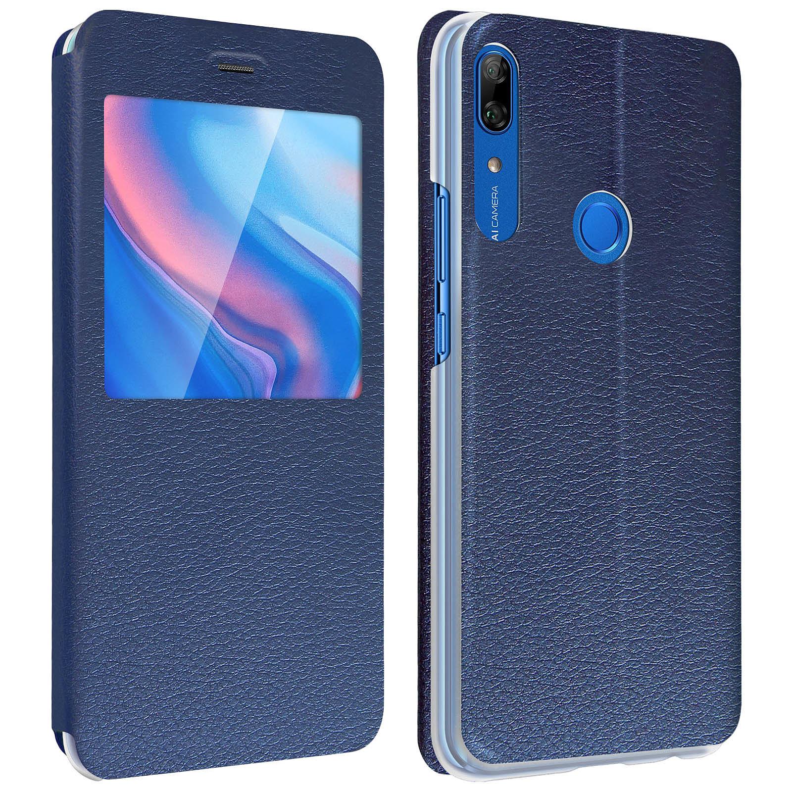 Avizar Etui folio Bleu Nuit pour Huawei P Smart Z , Honor 9X