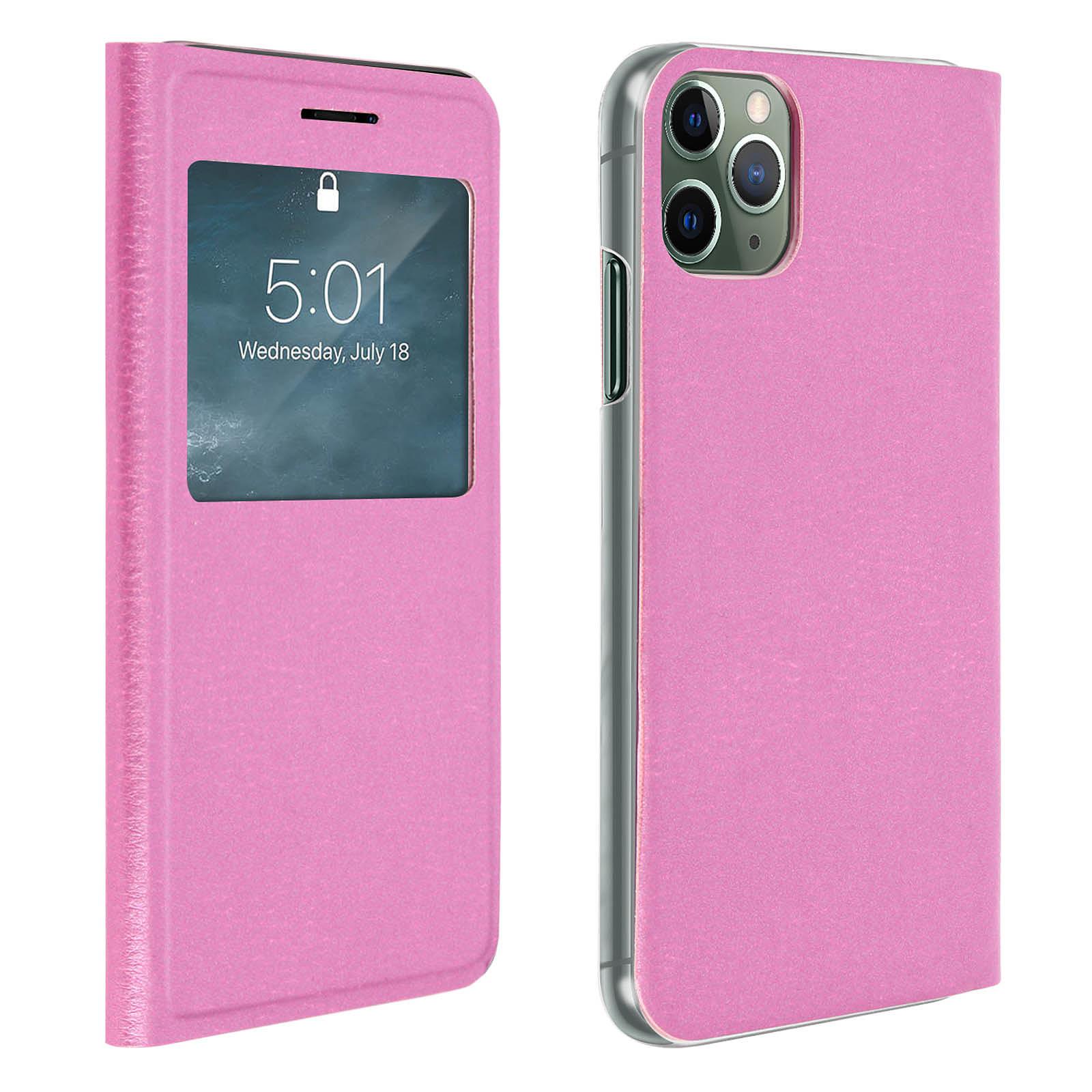 Avizar Etui folio Rose pour Apple iPhone 11 Pro