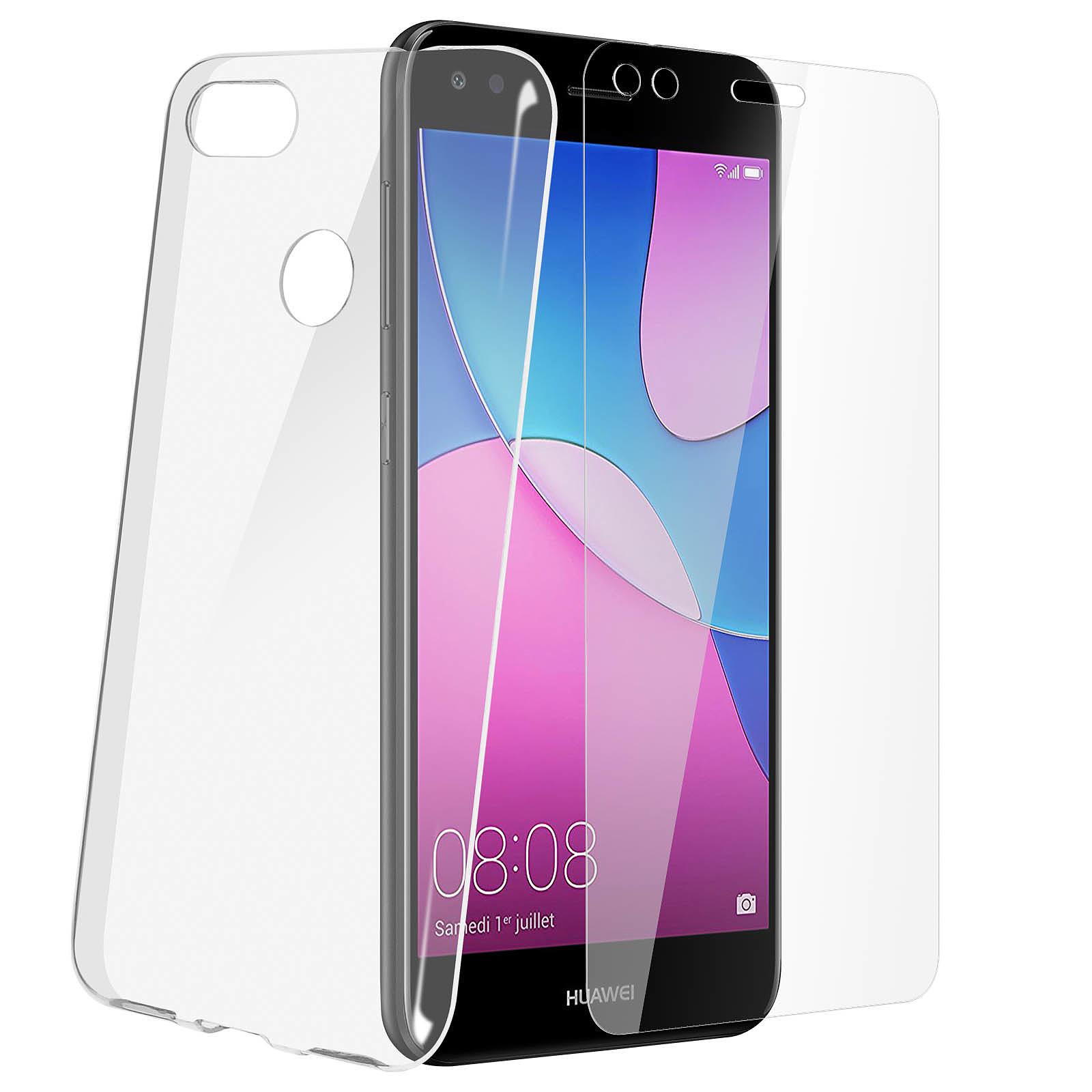 Avizar Coque Transparent pour Huawei Y6 Pro 2017 , Huawei P9 lite mini