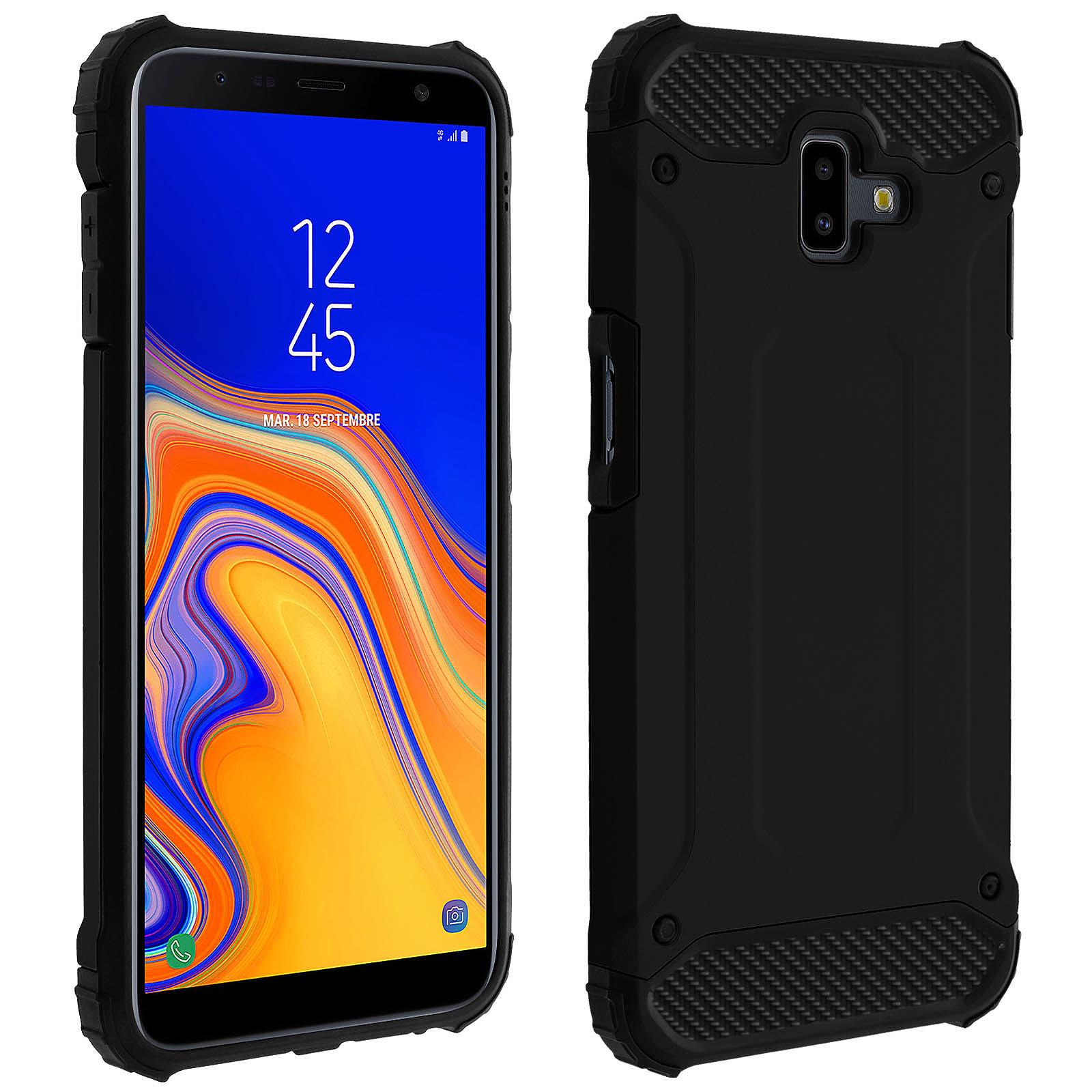 Avizar Coque Noir pour Samsung Galaxy J6 Plus