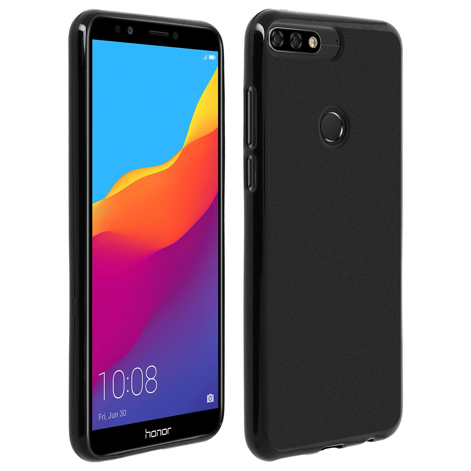 Avizar Coque Noir pour Honor 7C , Huawei Y7 2018