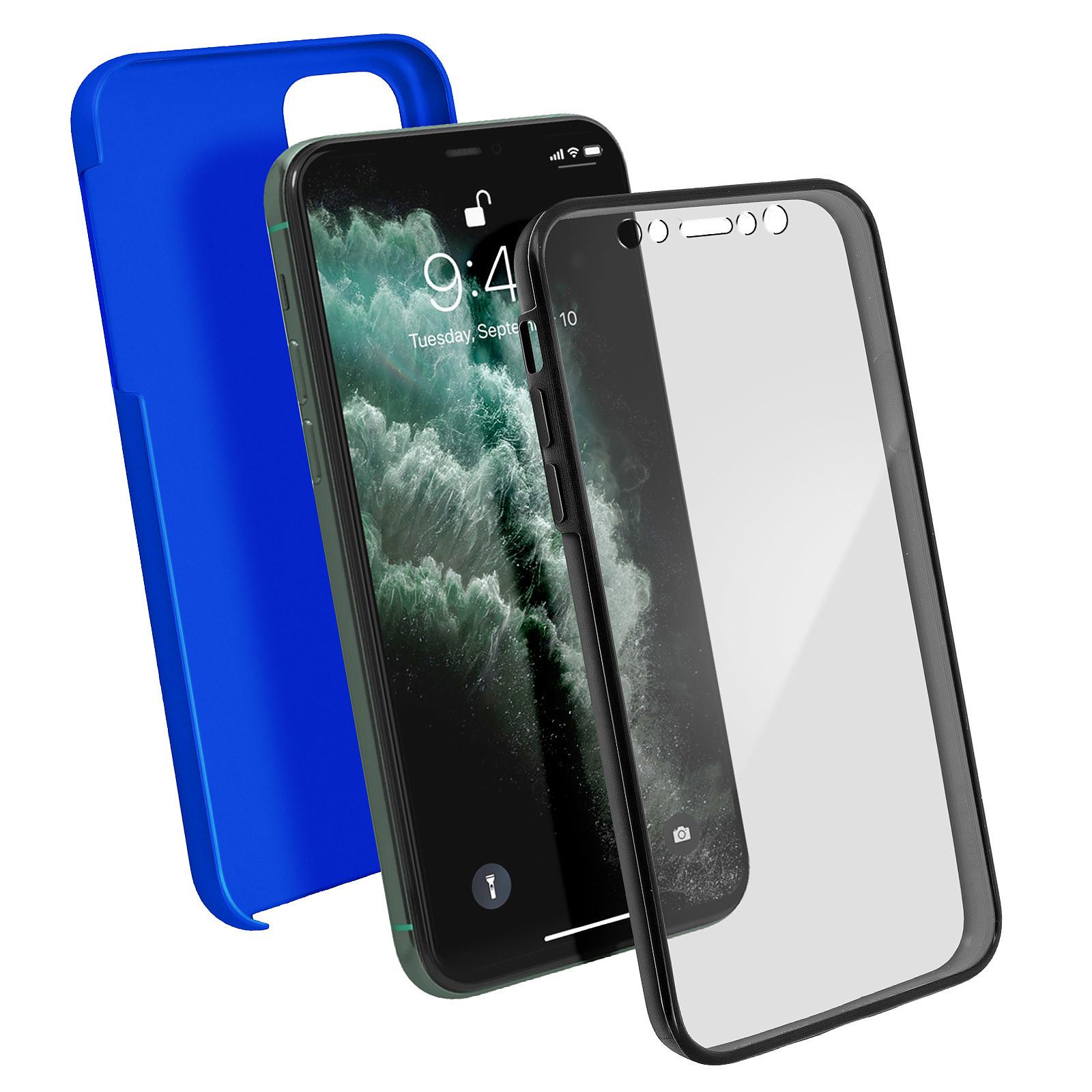 Avizar Coque Bleu Intégrale pour Apple iPhone 11 Pro