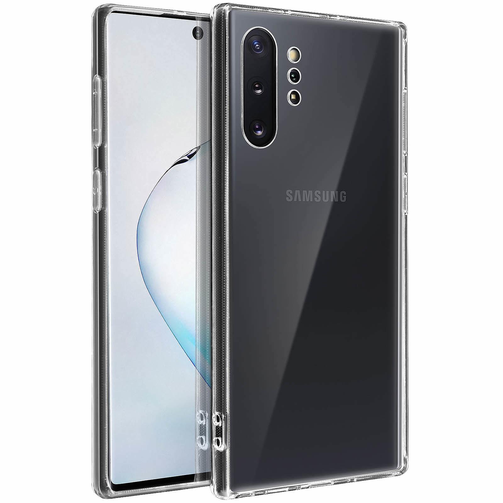 Avizar Coque Transparent pour Samsung Galaxy Note 10 Plus