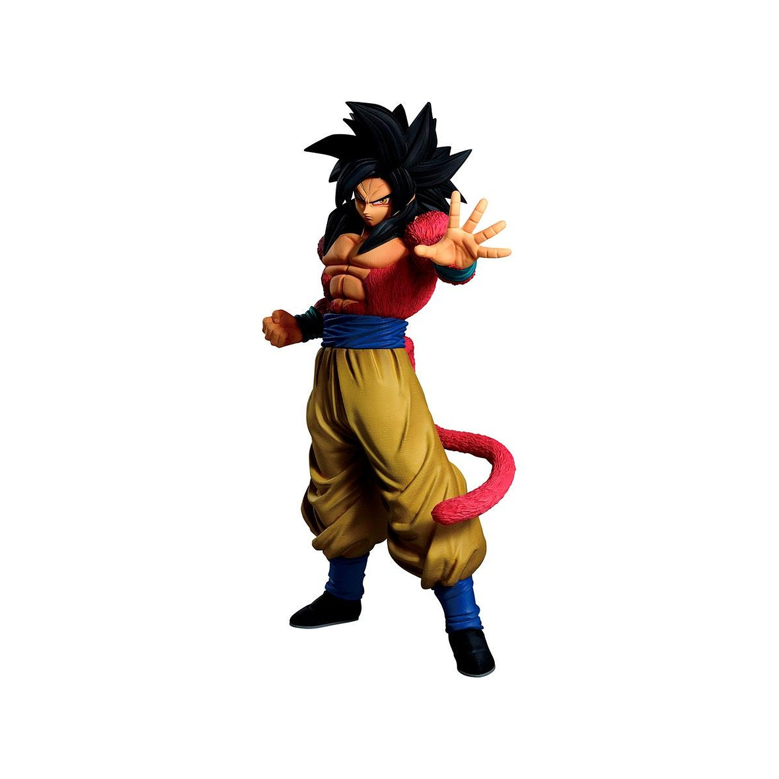 Dragon Ball - Statuette Ichibansho Super Saiyan 4 Goku 25 cm