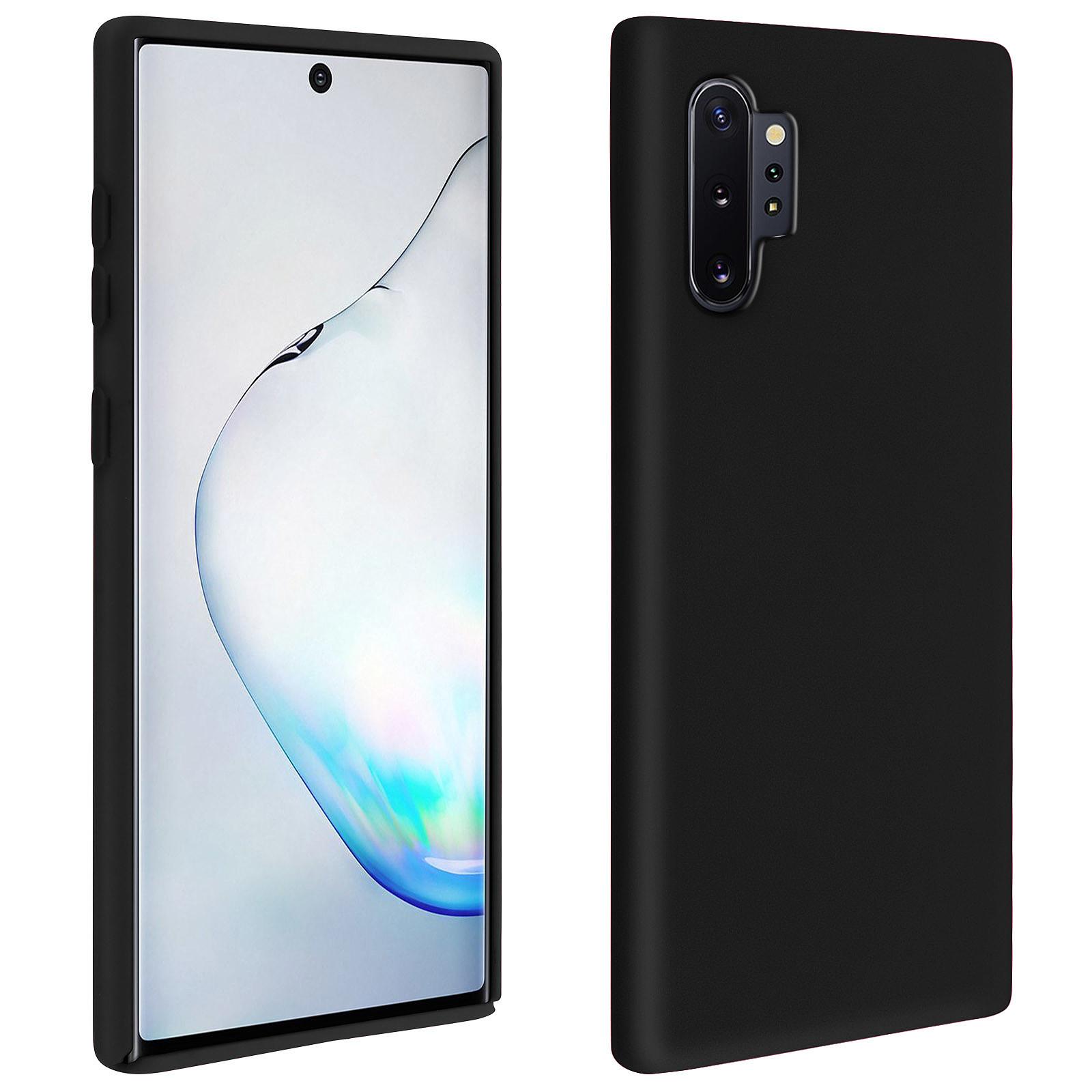 Avizar Coque Noir pour Samsung Galaxy Note 10 Plus