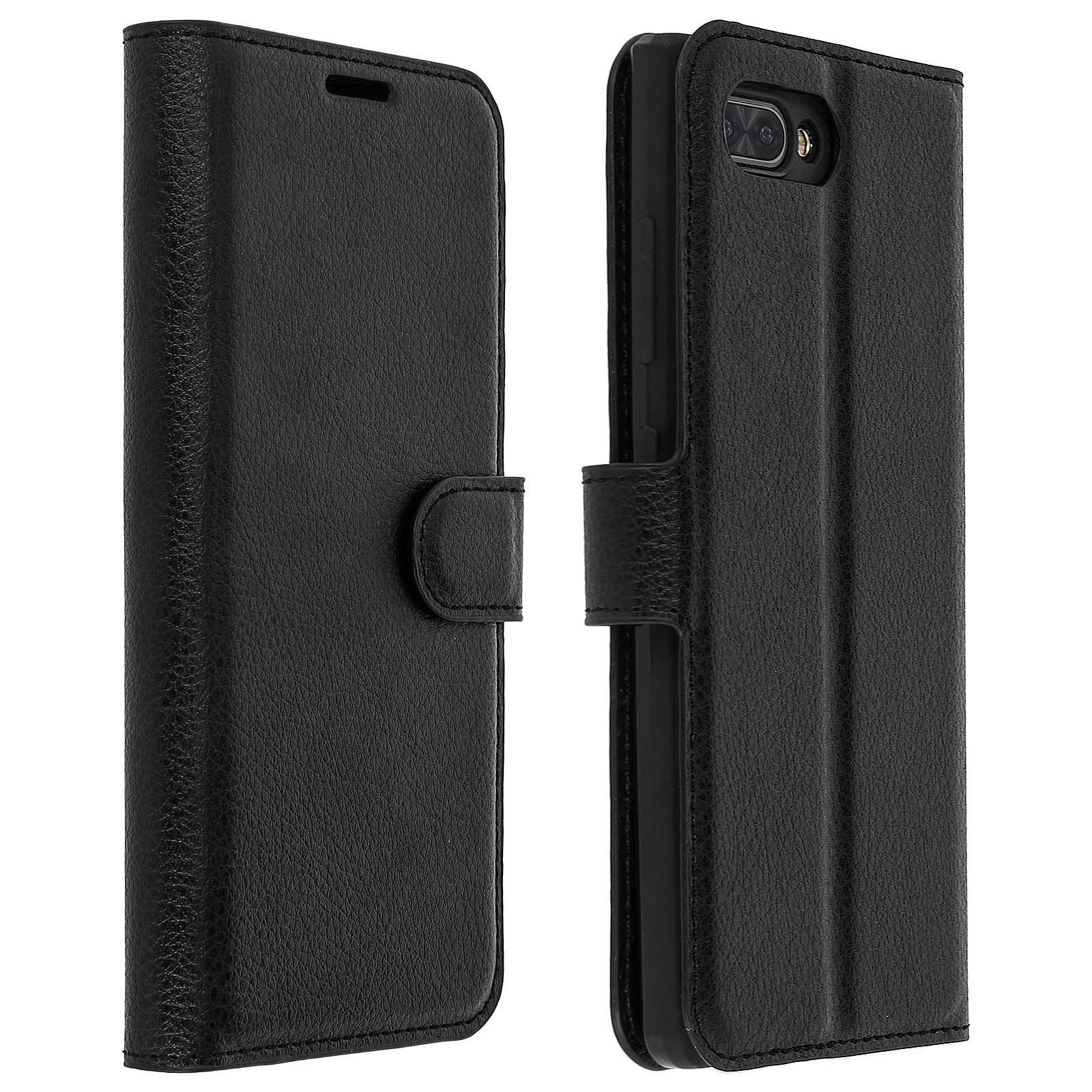 Avizar Etui folio Noir pour BlackBerry KEY2