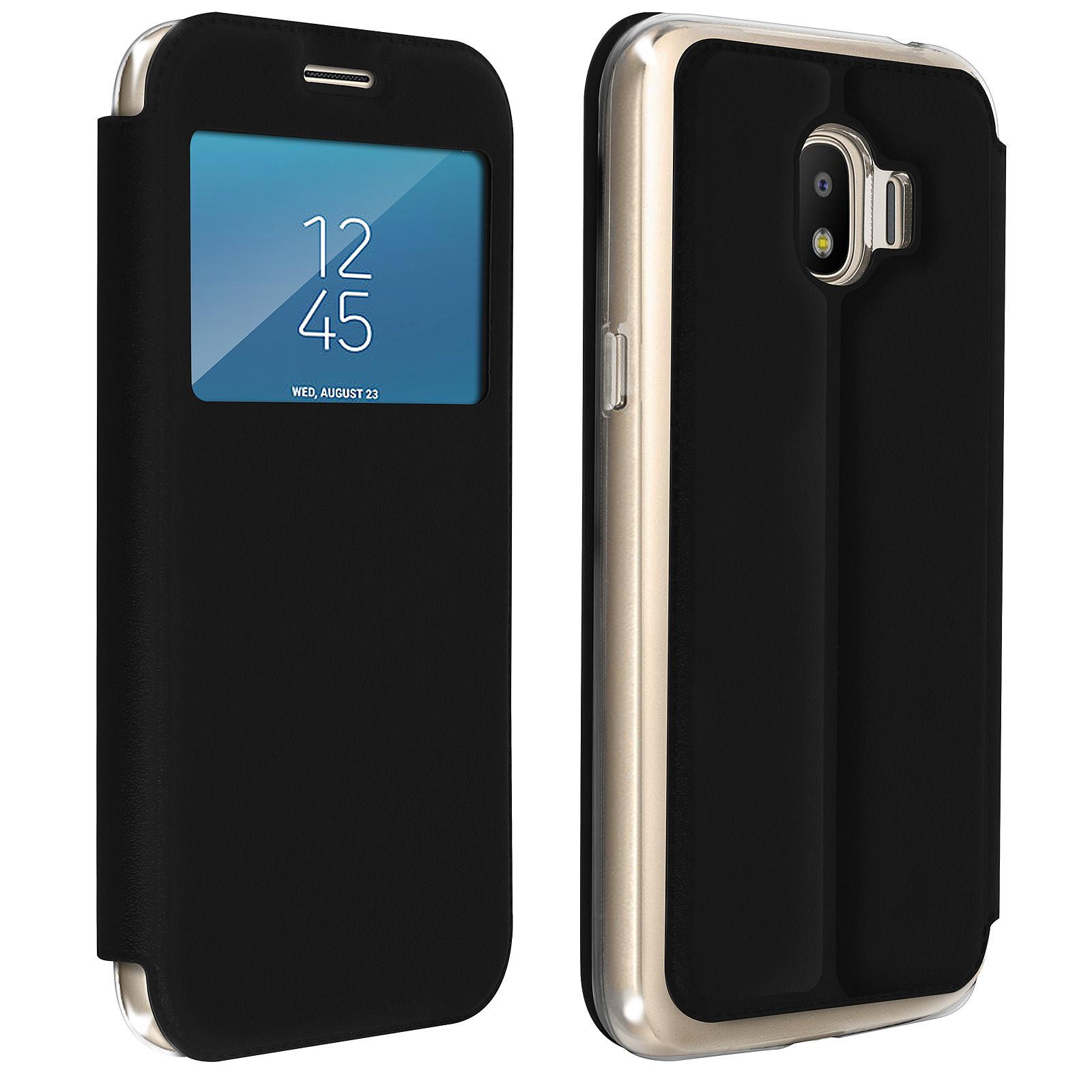 Avizar Etui folio Noir pour Samsung Galaxy Grand Prime Pro