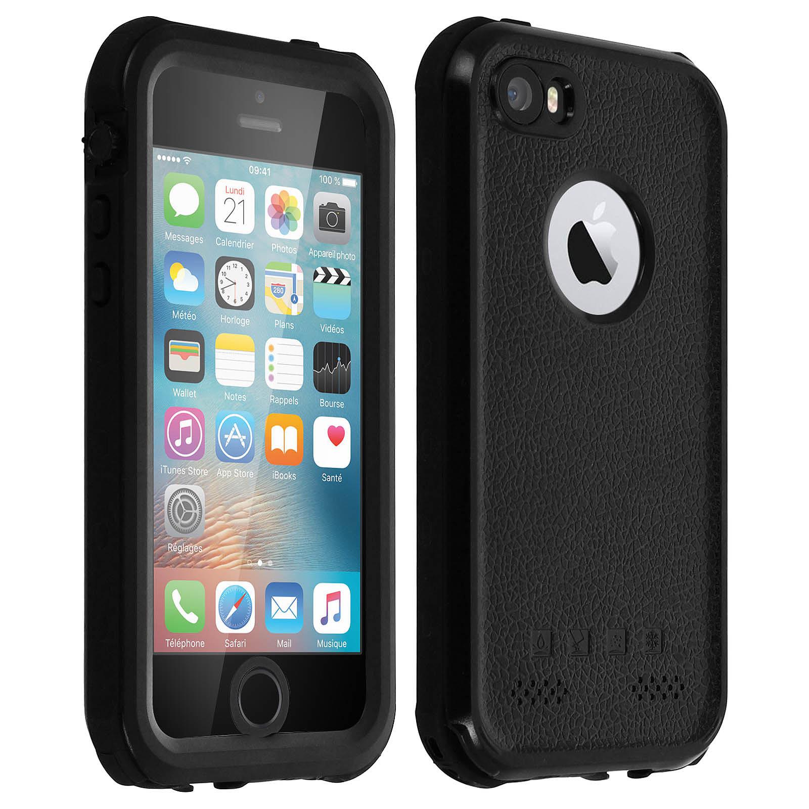 Avizar Coque Noir pour Apple iPhone 5 , Apple iPhone 5s , Apple iPhone SE