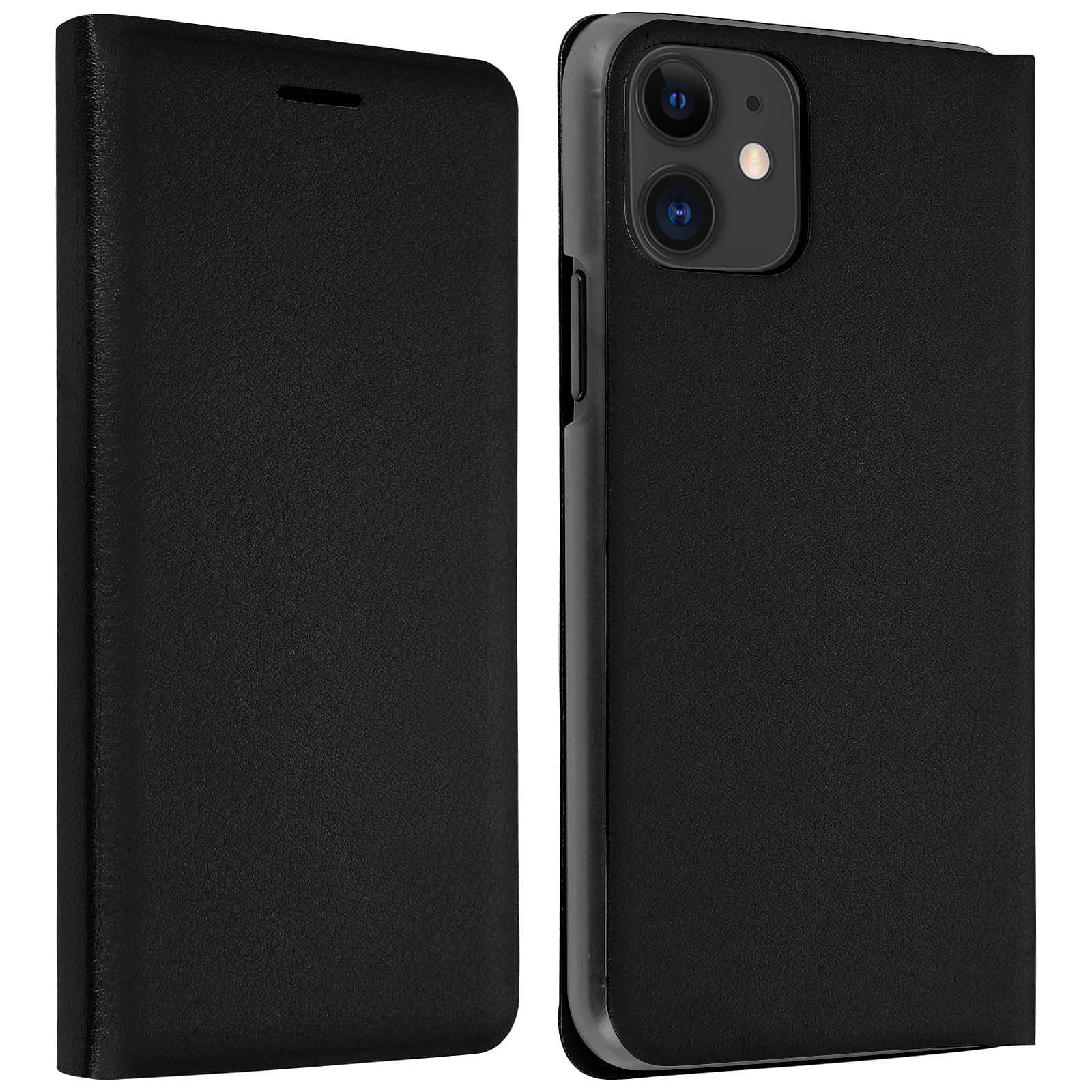 Avizar Etui folio Noir pour Apple iPhone 11