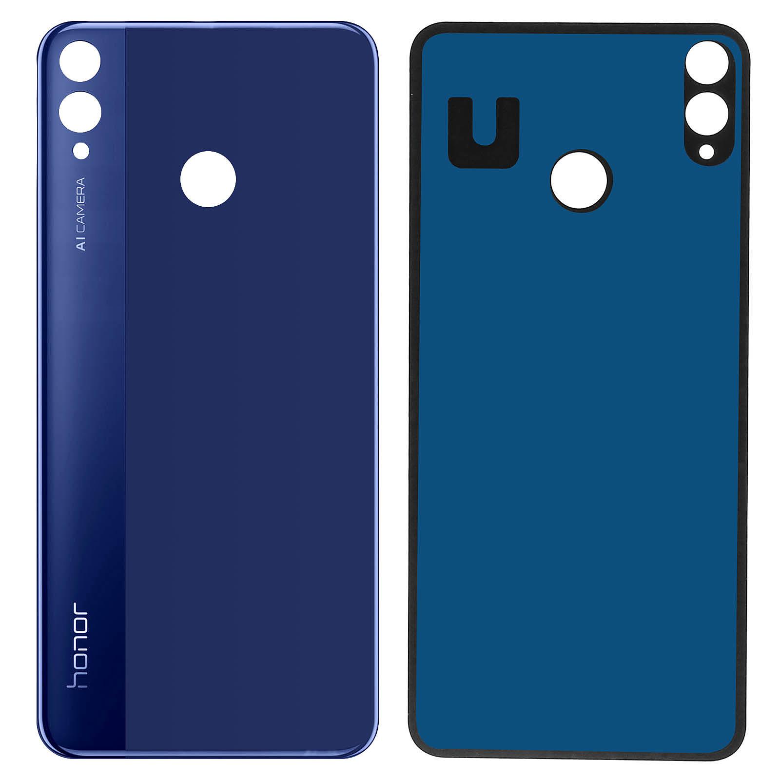 Avizar Cache batterie Bleu Nuit pour Honor 8X , Honor View 10 Lite Accessoires divers smartphone Avizar sur