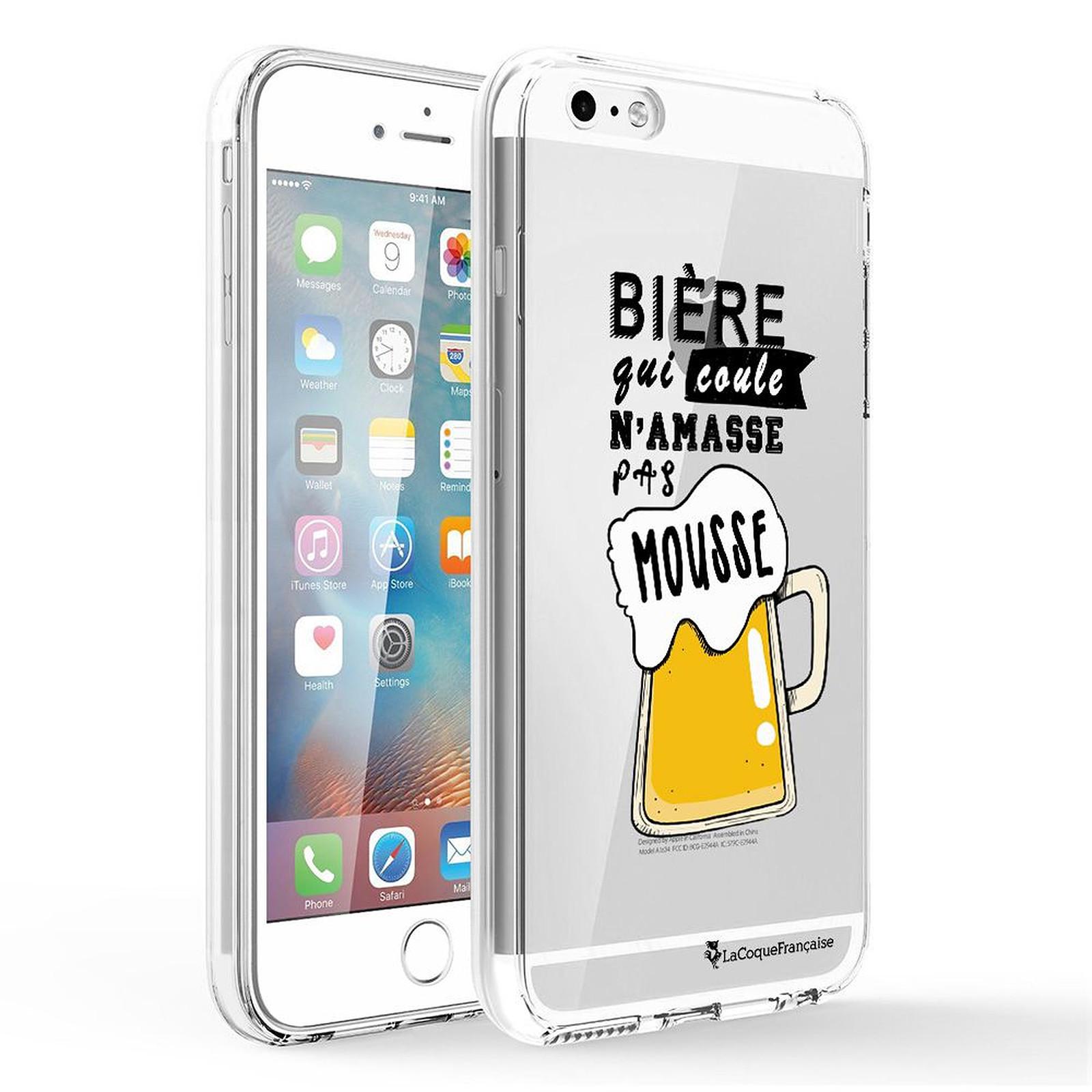 LA COQUE FRANCAISE Coque iPhone 5/5S/SE 360 intégrale transparente Bière qui Coule Tendance