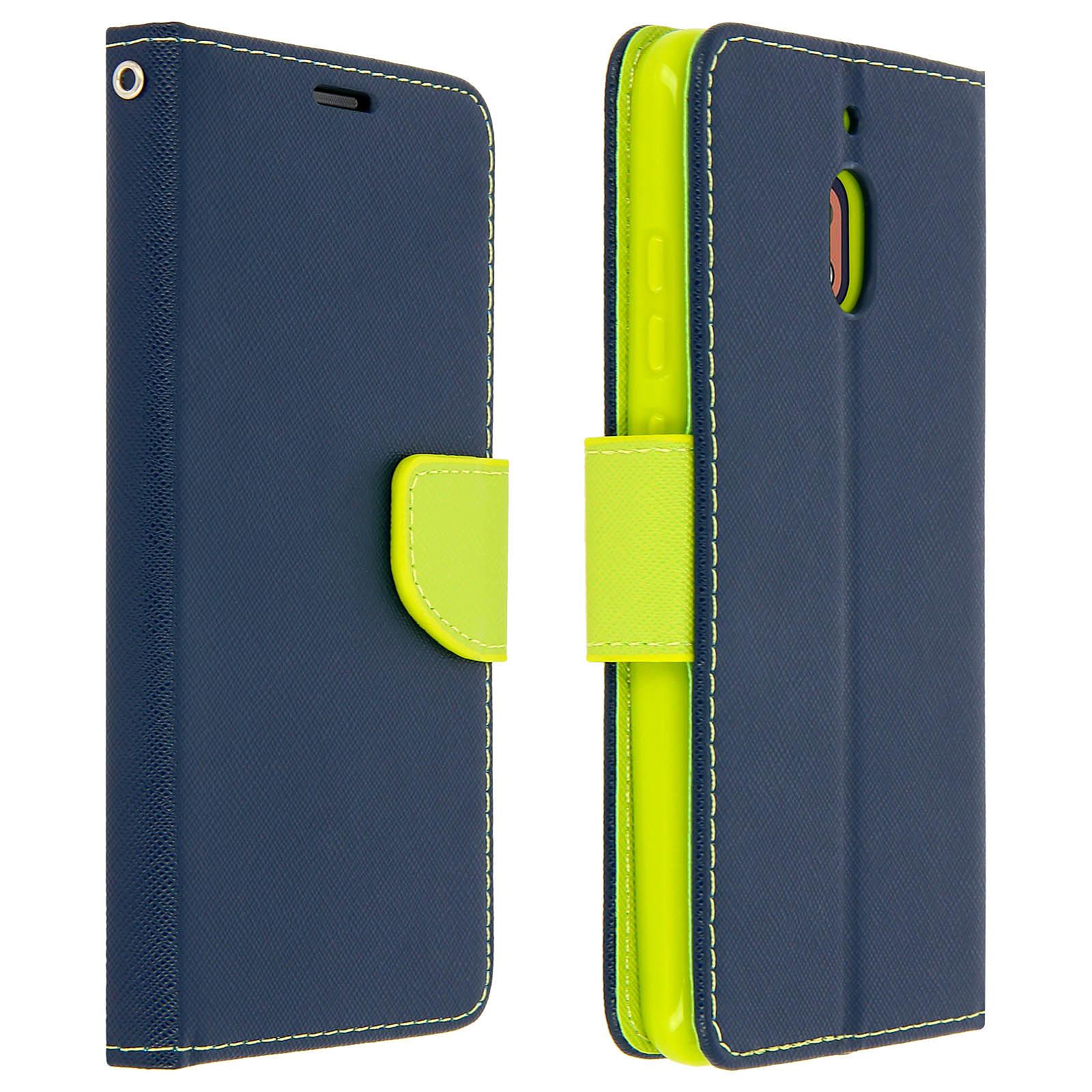 Avizar Etui folio Bleu pour Nokia 2.1