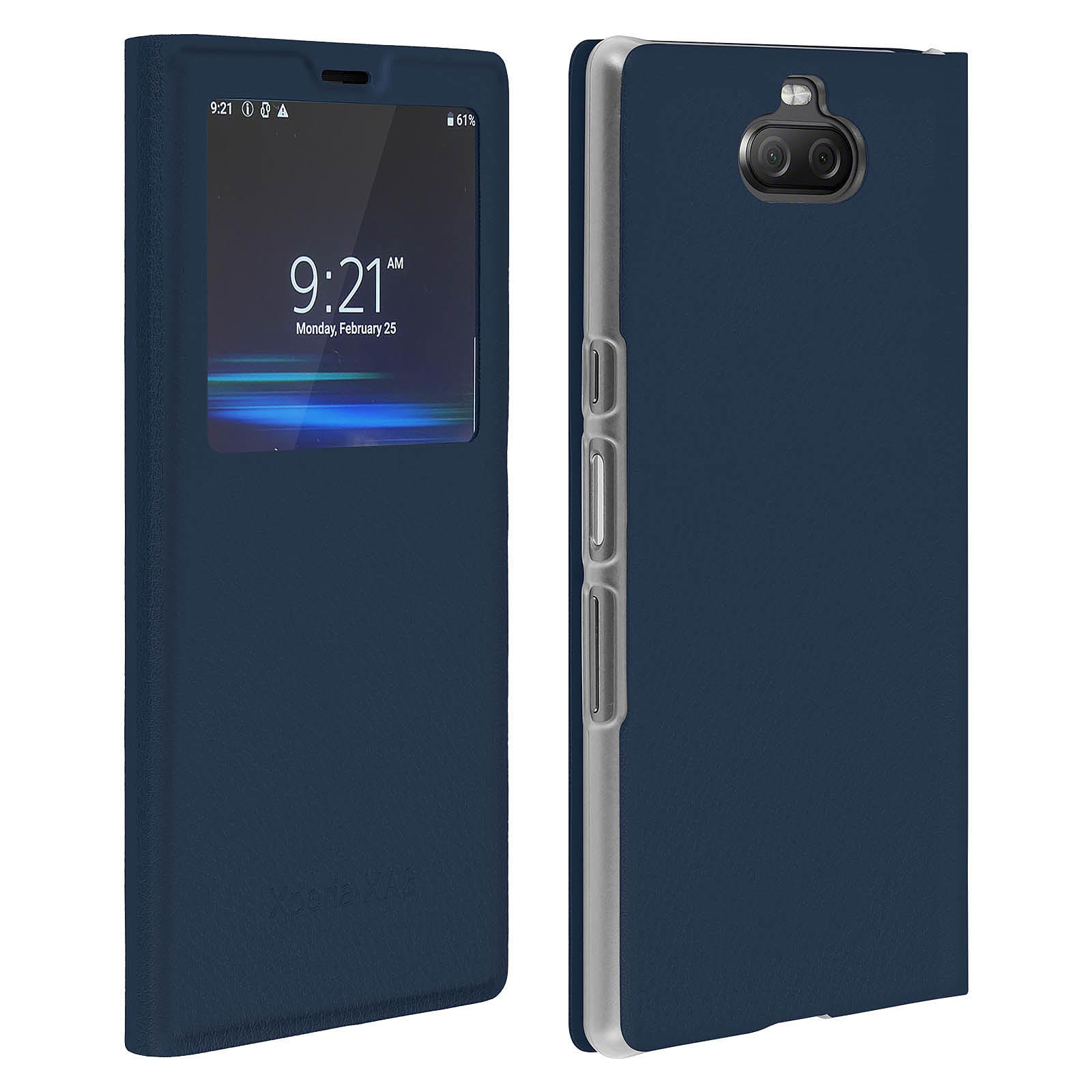 Avizar Etui folio Bleu Nuit pour Sony Xperia 10