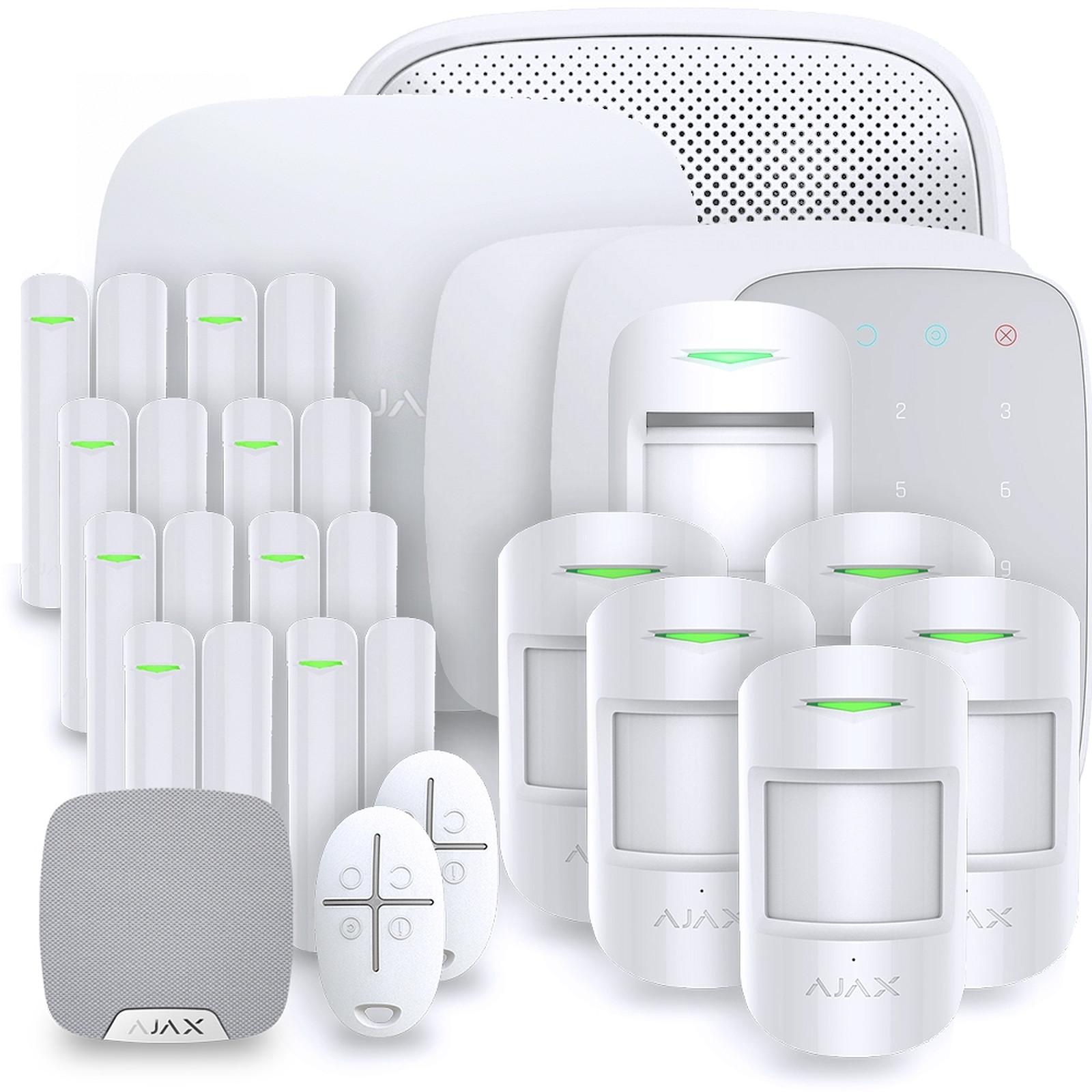 Ajax Alarme maison StarterKit blanc  Kit 13