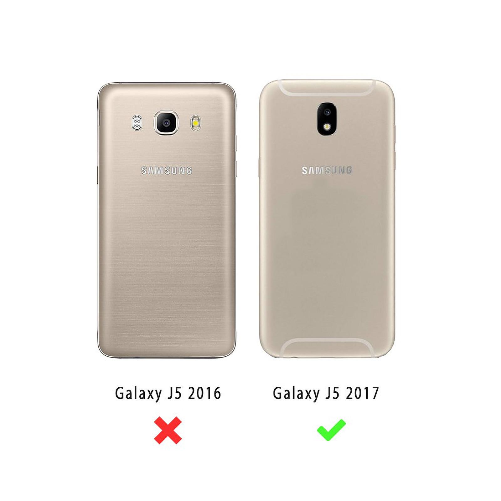EVETANE Coque Samsung Galaxy J5 2017 transparente Ananas Tendance