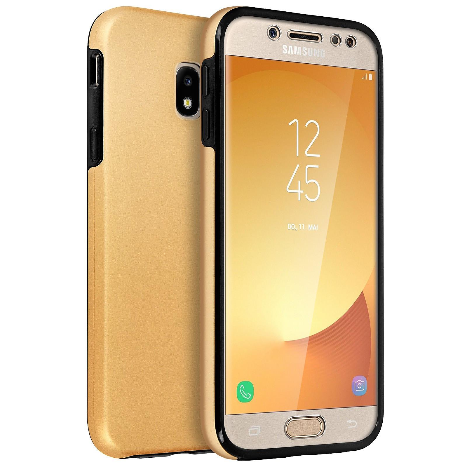 Avizar Coque Dorée pour Samsung Galaxy J5 2017