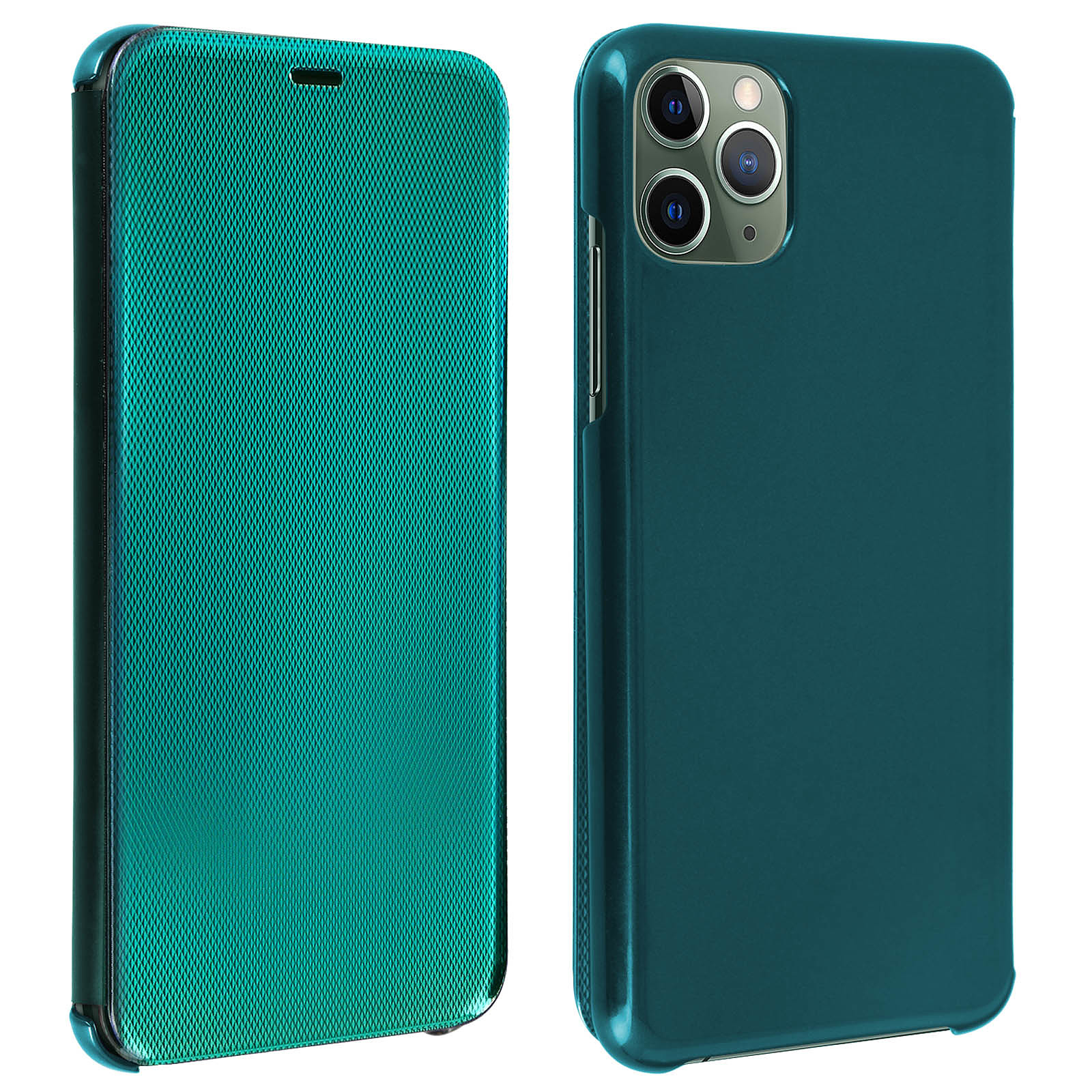Avizar Etui folio Vert pour Apple iPhone 11 Pro Max