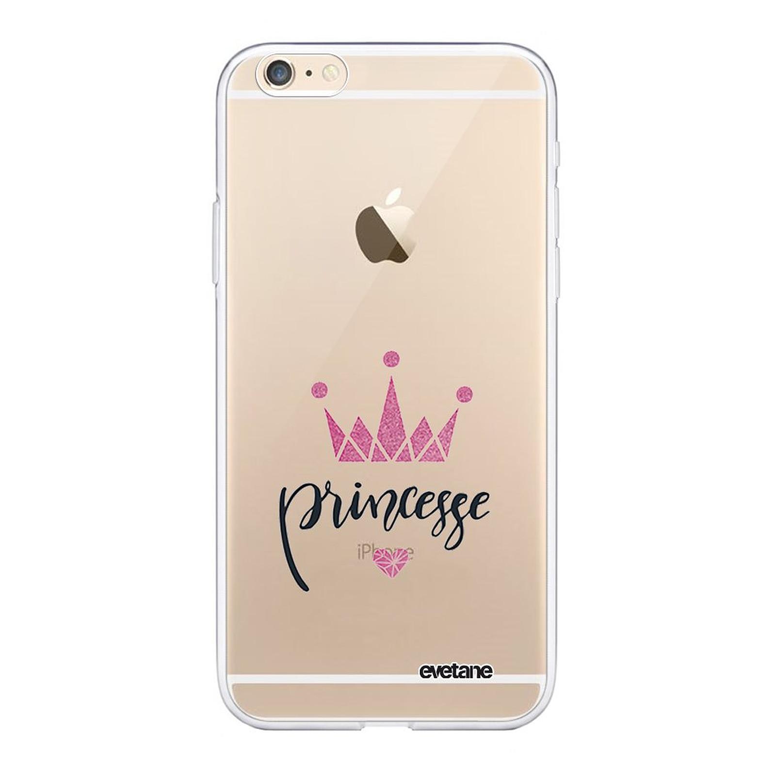 EVETANE Coque iPhone 6/6S 360 intégrale transparente Princesse Couronne Tendance - Coque téléphone Evetane sur LDLC