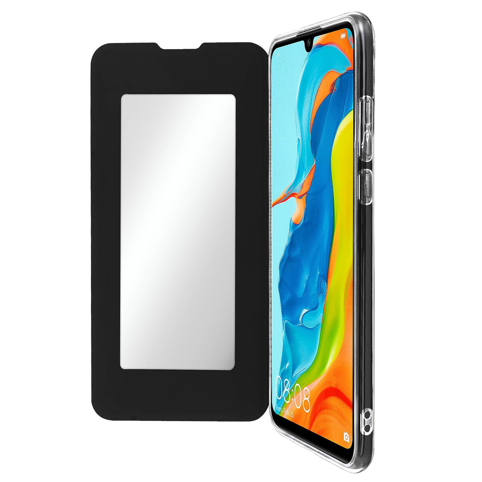 Avizar Etui folio Noir pour Huawei P30 Lite , Honor 20S , Huawei P30 Lite XL