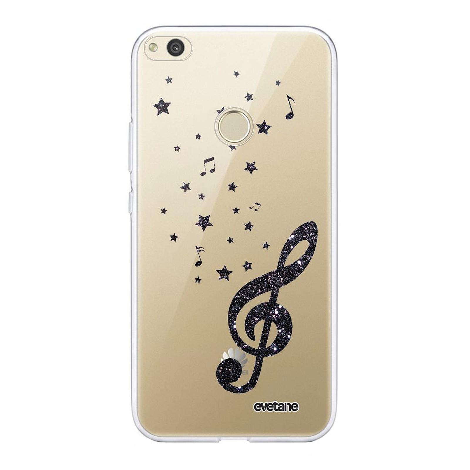 EVETANE Coque Huawei P8 lite 2017 souple transparente Note de Musique - Coque téléphone Evetane sur LDLC
