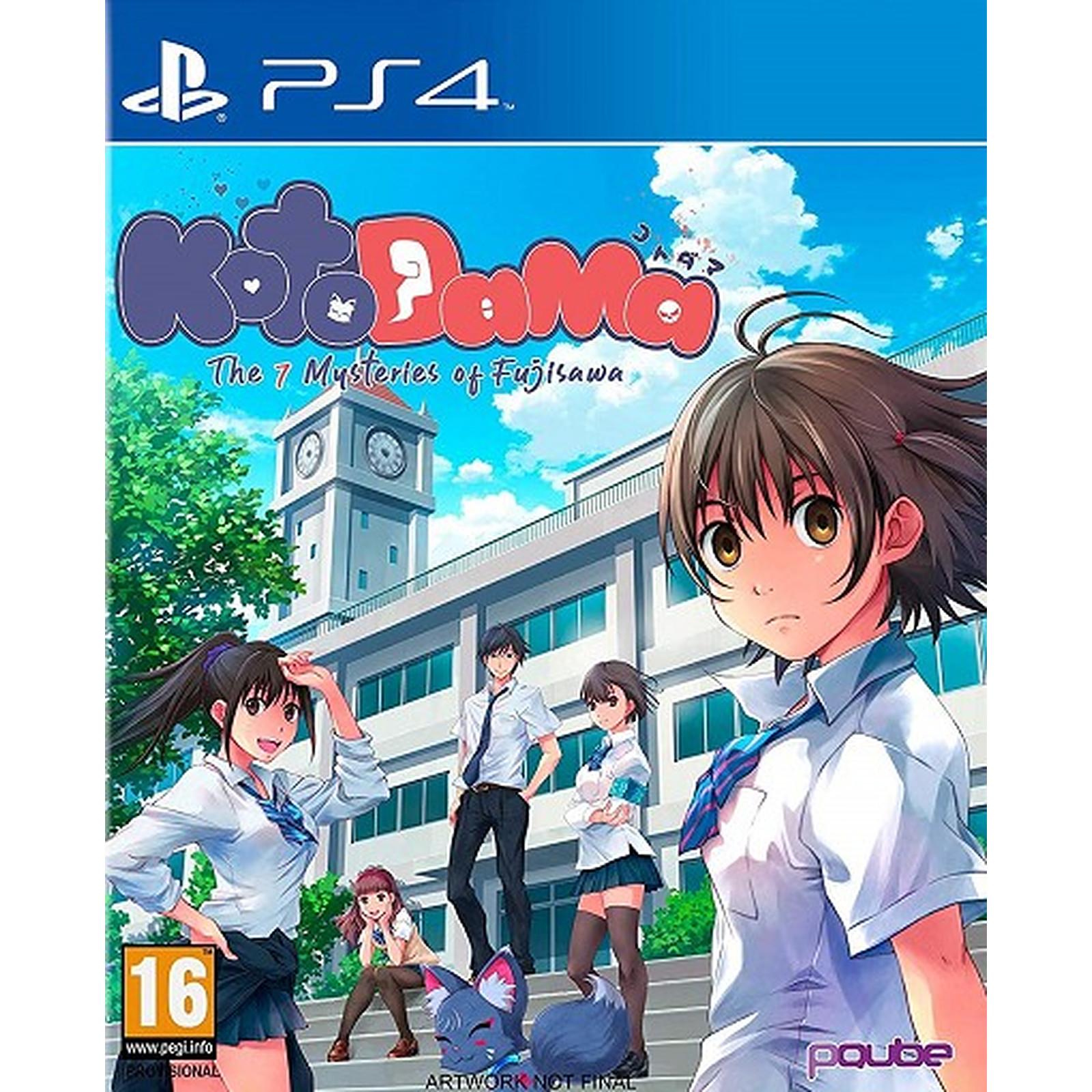 Kotodama The Seven Mysteries of Fujisawa (PS4)