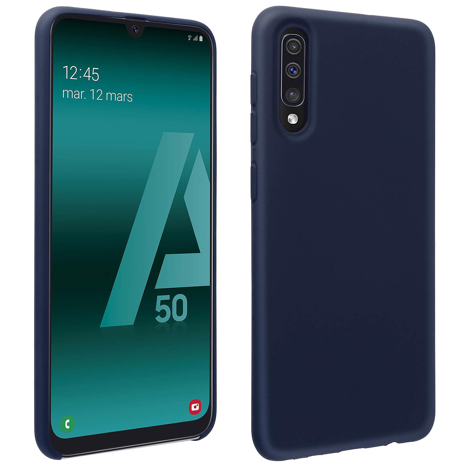 Avizar Coque Bleu Nuit pour Samsung Galaxy A50 , Samsung Galaxy A30s
