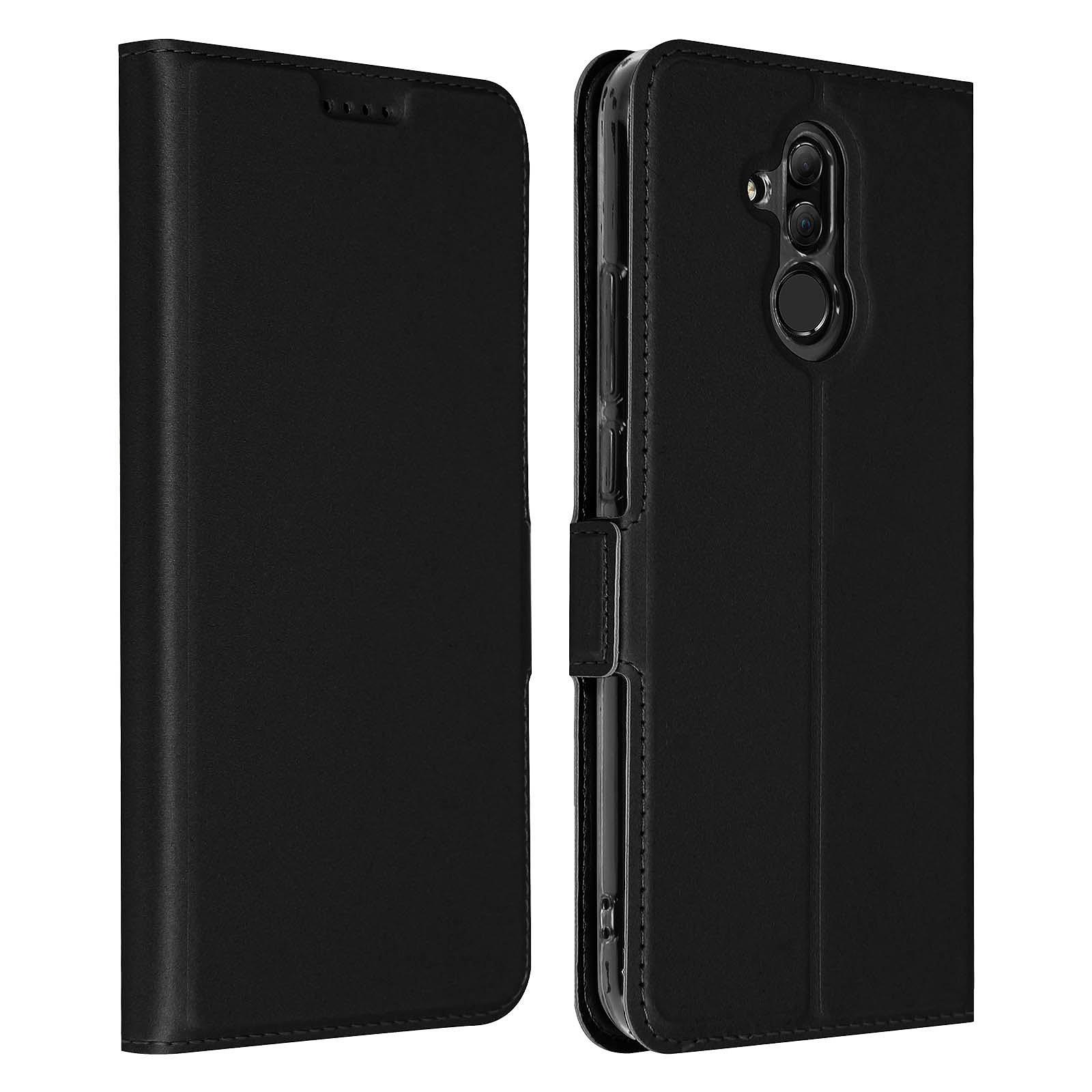 Avizar Etui folio Noir pour Huawei Mate 20 lite