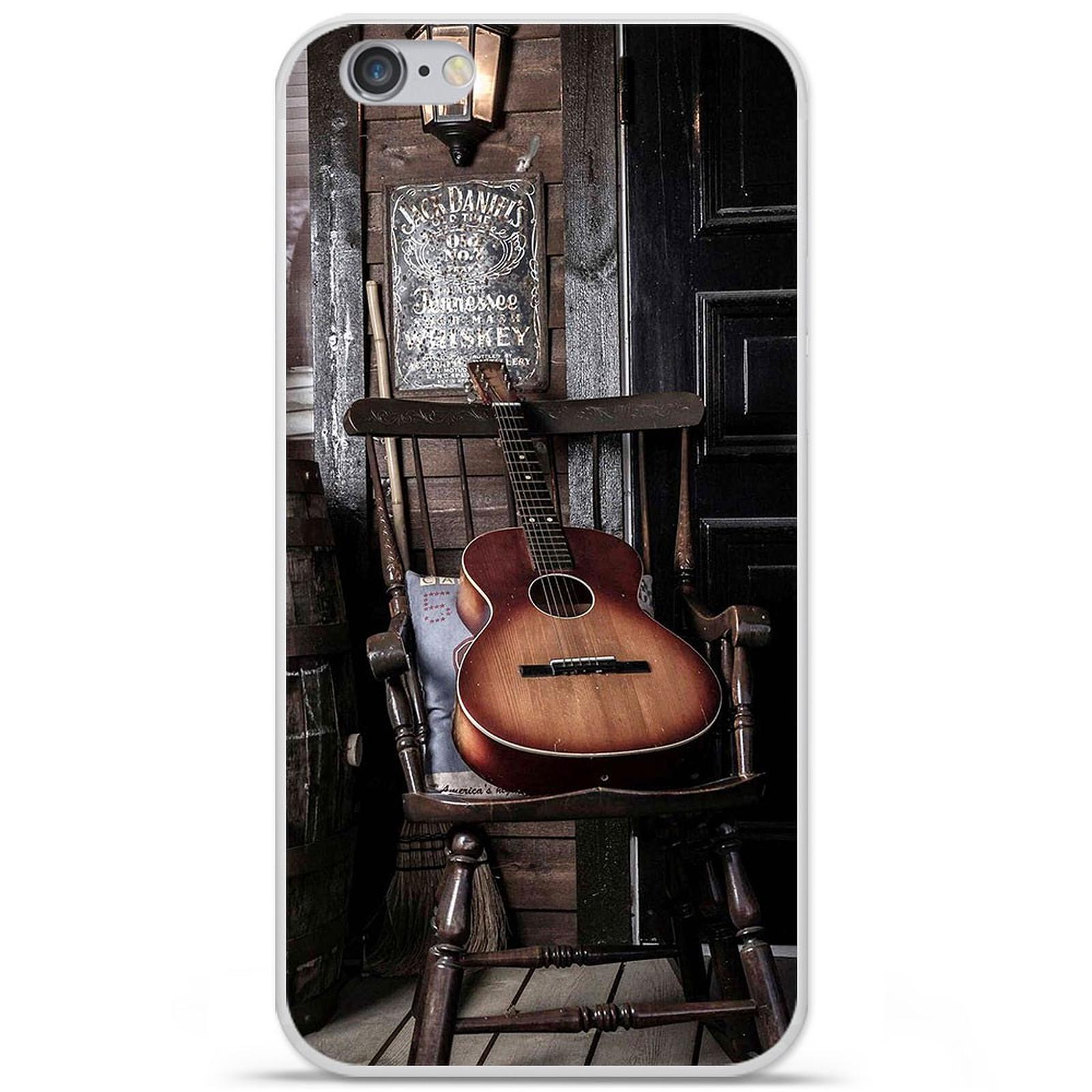 1001 Coques Coque silicone gel Apple IPhone 7 Plus motif Guitare