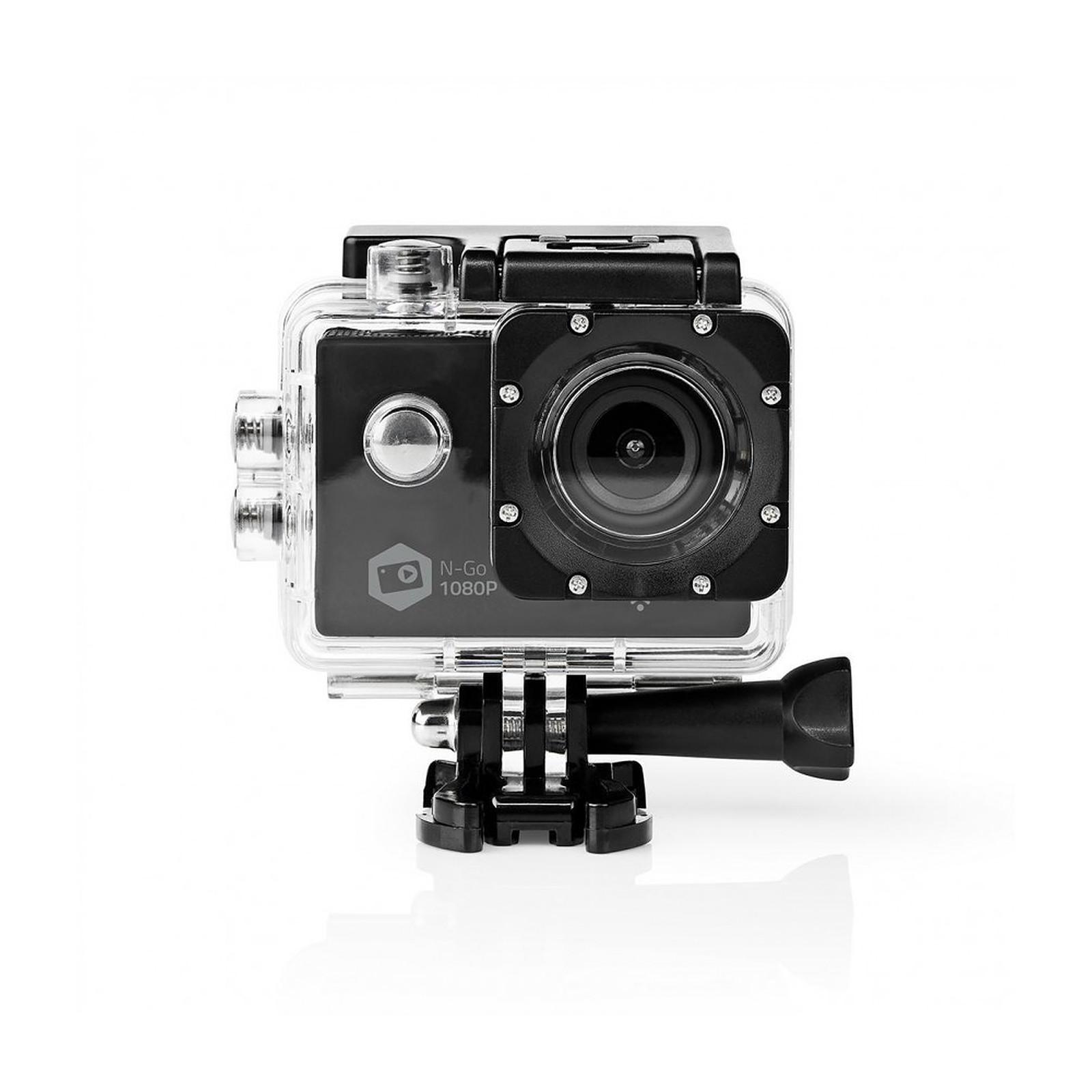 NEDIS Caméra sport Full HD 1080p Wi-Fi Noir