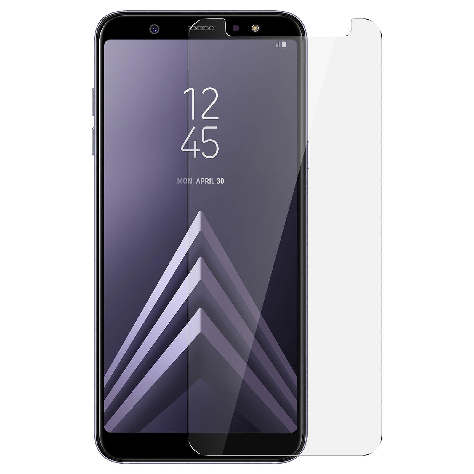 Avizar Film verre trempé Transparent pour Samsung Galaxy A6 Plus