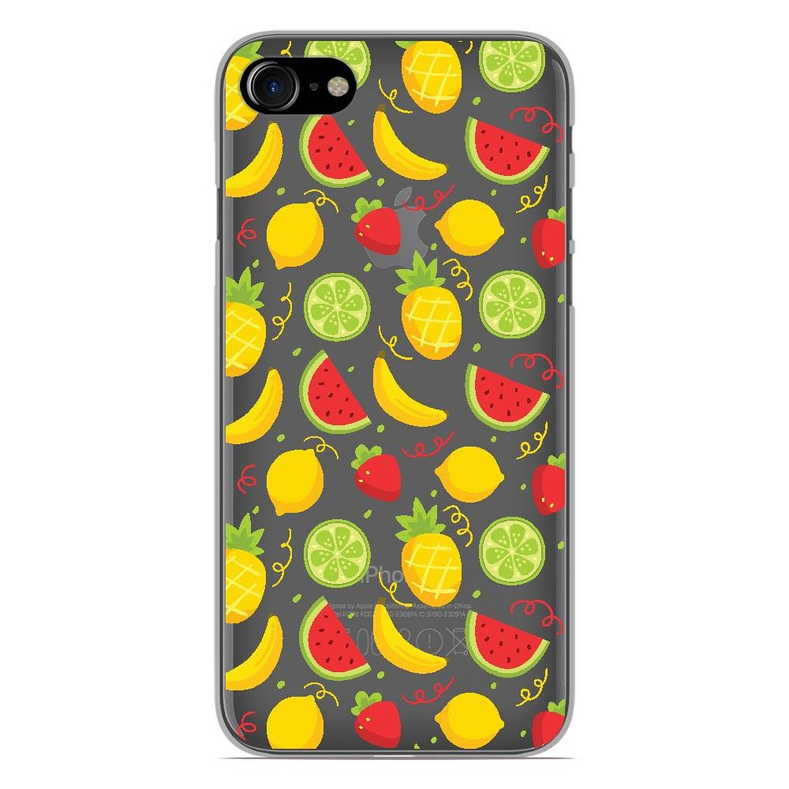 coque iphone 8 silicone tropical