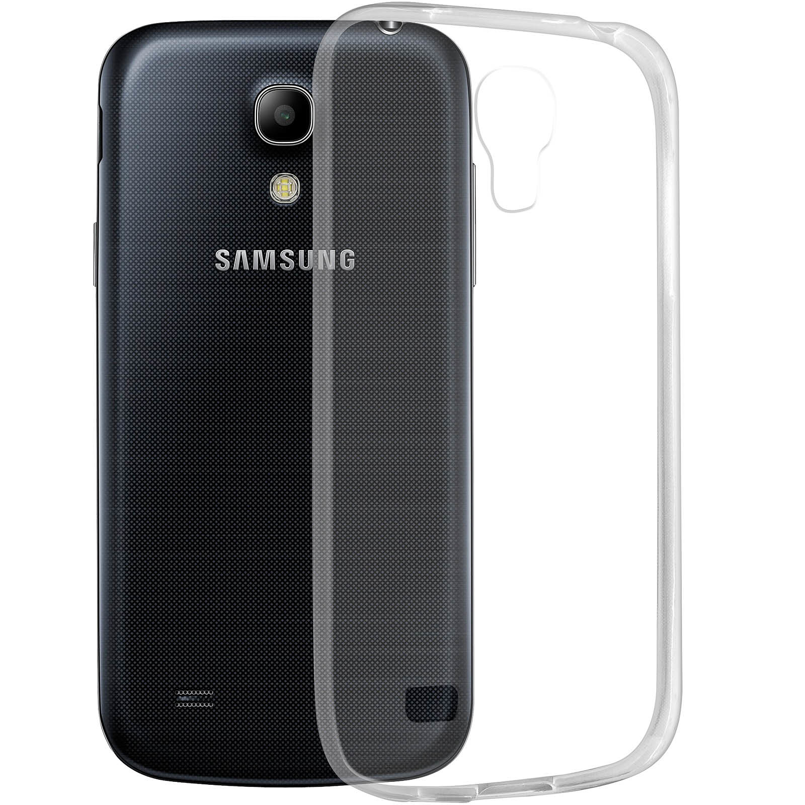 Avizar Coque Transparent pour Samsung Galaxy S4 Mini