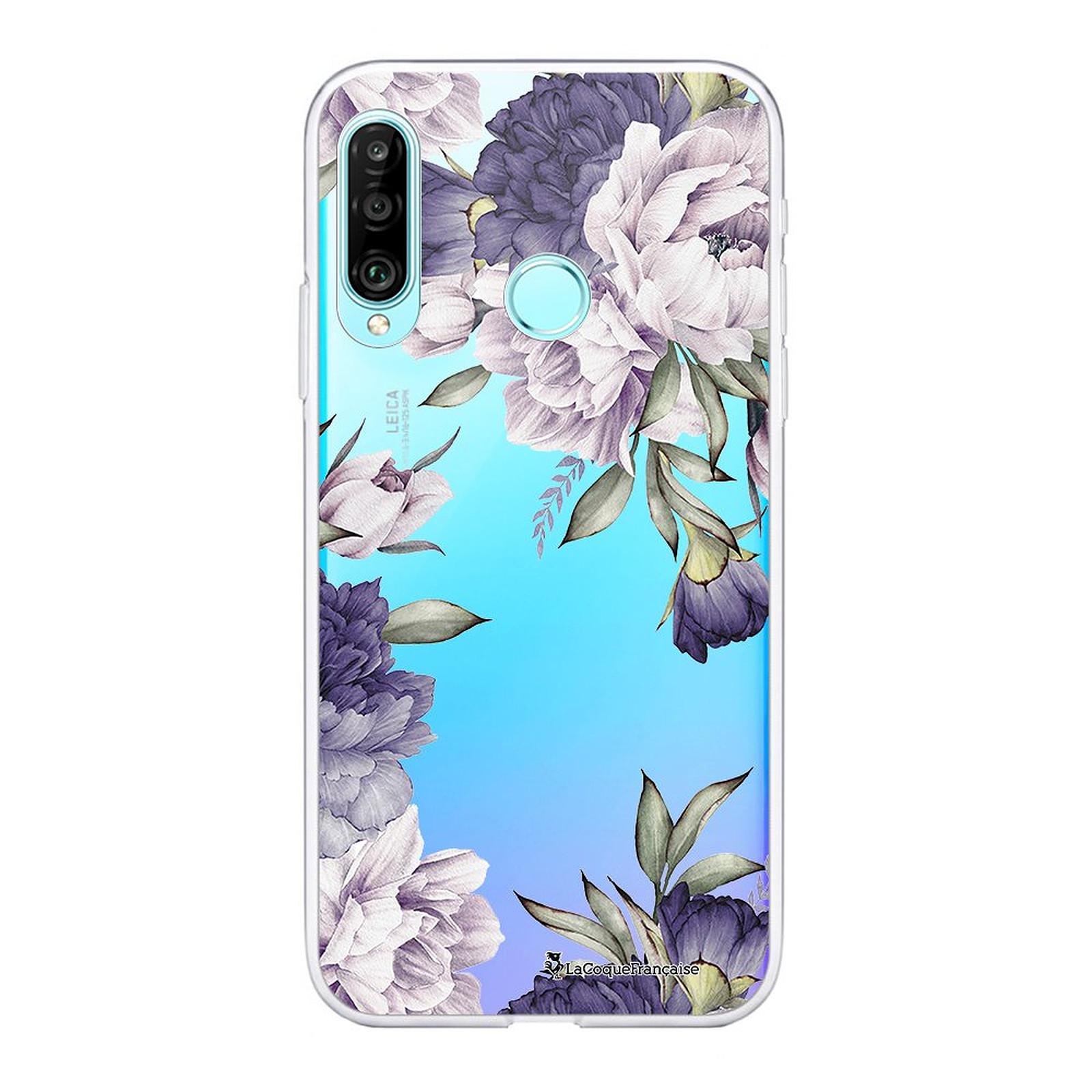 LA COQUE FRANCAISE Coque Huawei P30 Lite 360 intégrale transparente Pivoines Violettes Tendance - Coque téléphone LaCoqueFrançaise sur LDLC