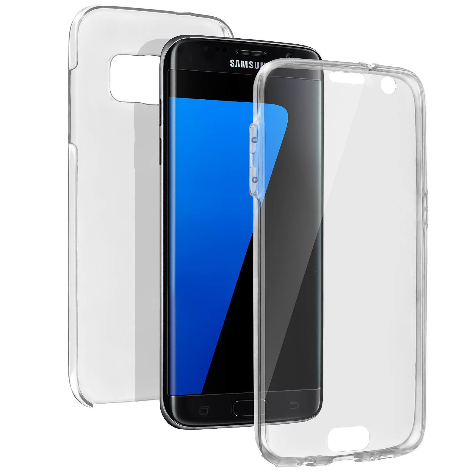 Avizar Coque Transparent pour Samsung Galaxy S7 Edge