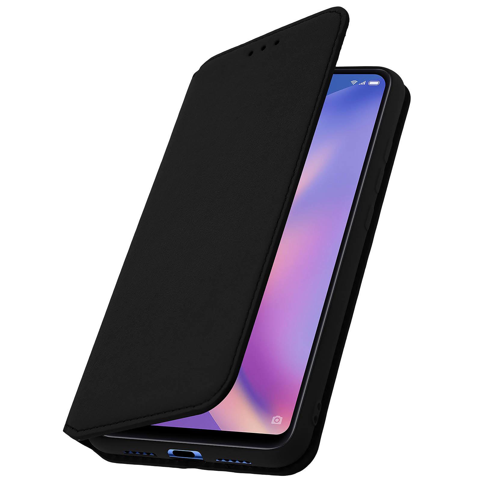 Avizar Etui folio Noir pour Xiaomi Mi 8 Lite