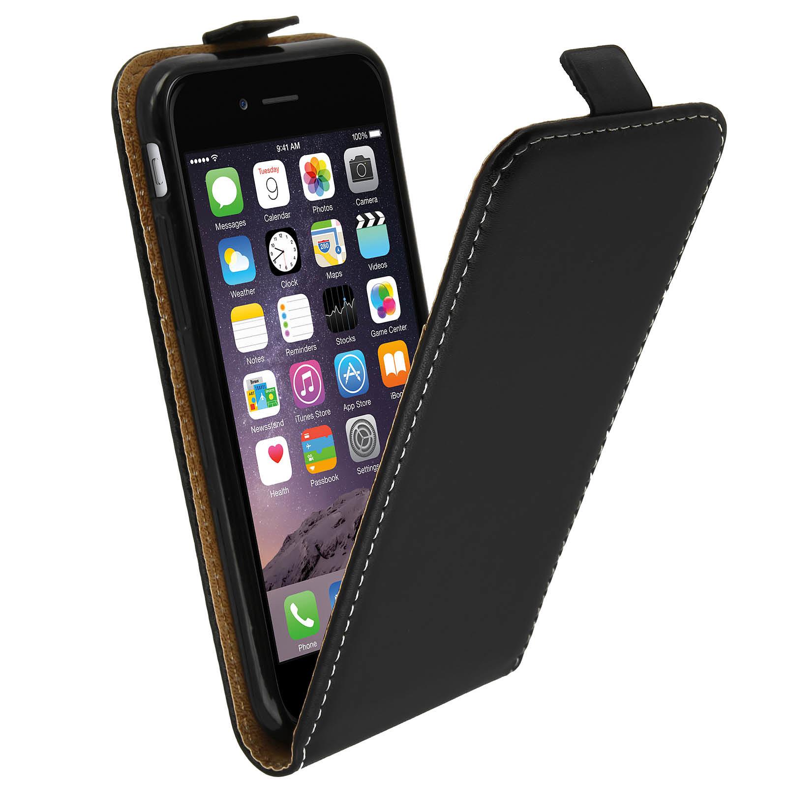 Avizar Etui à clapet Noir pour Apple iPhone 6 , Apple iPhone 6S