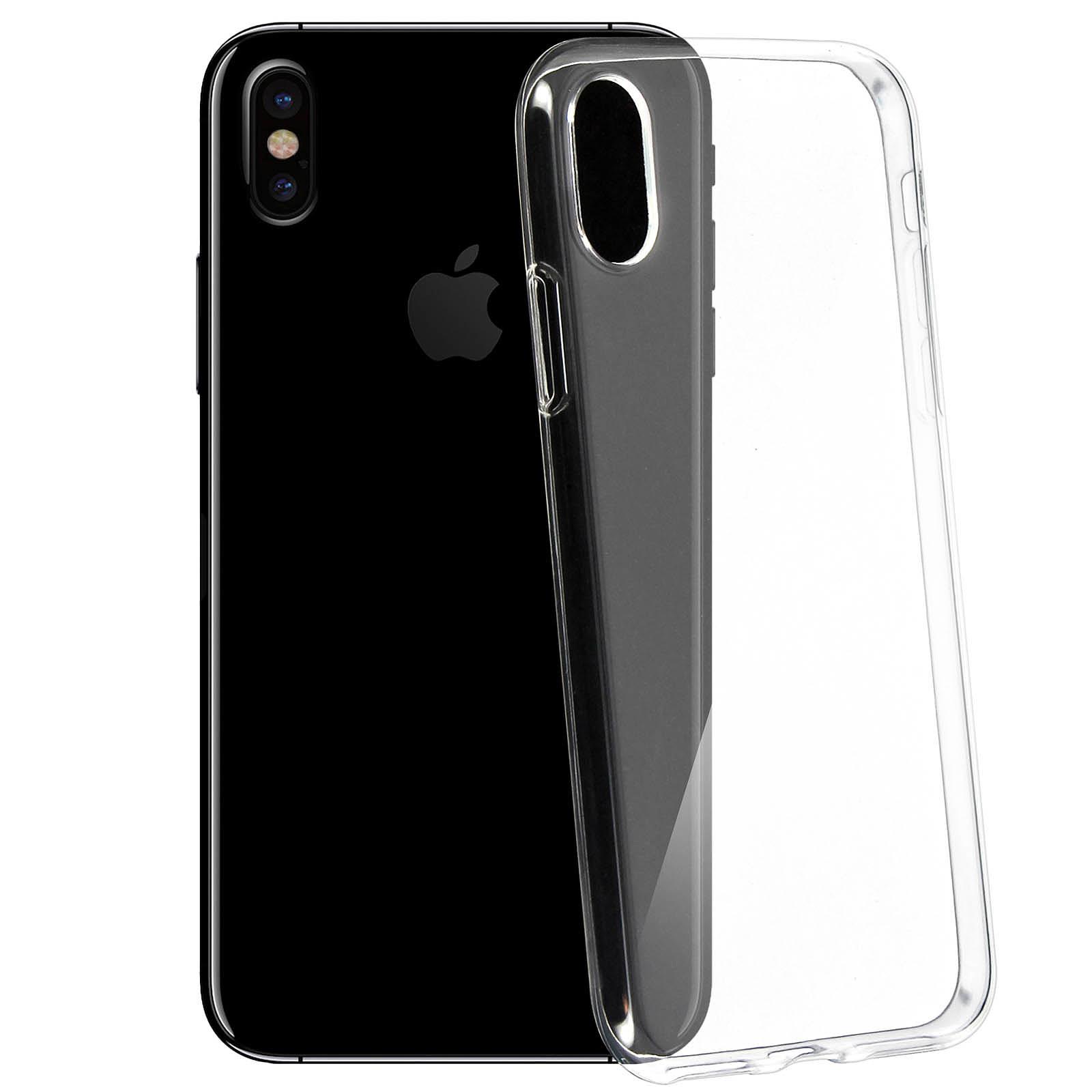 Avizar Coque Transparent pour Apple iPhone X , Apple iPhone XS