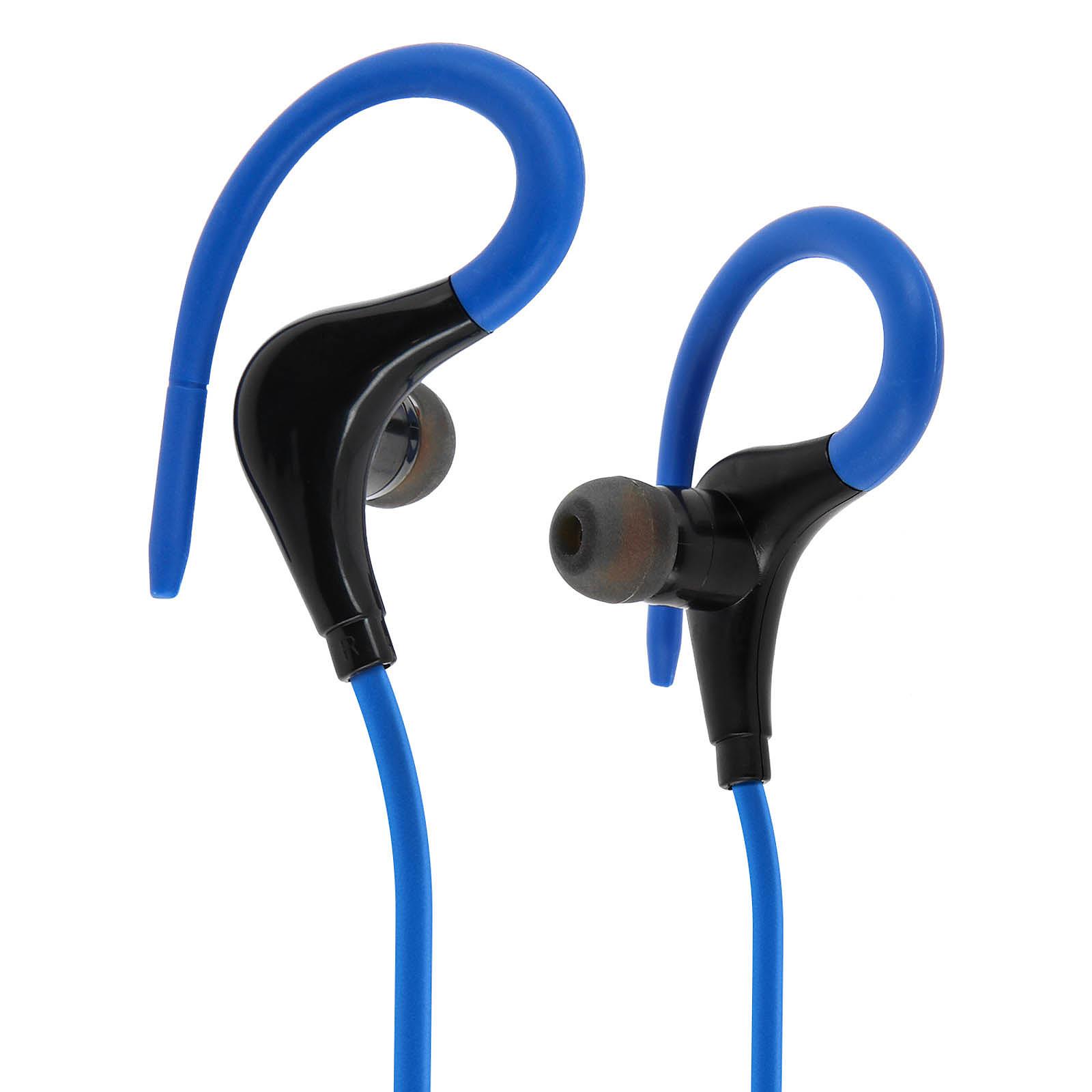 Avizar Ecouteurs sans-fil Bleu pour Smartphones et tablettes compatibles Bluetooth