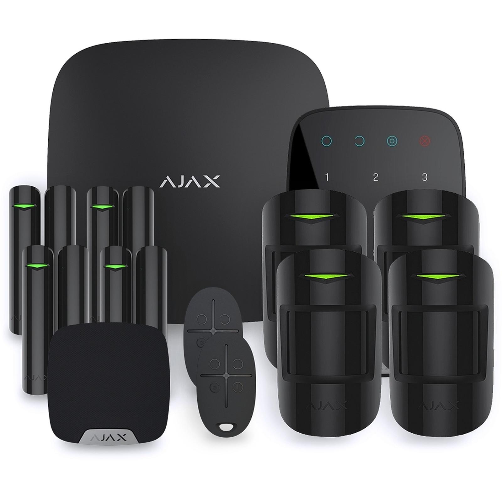 Ajax Alarme maison StarterKit noir  Kit 4