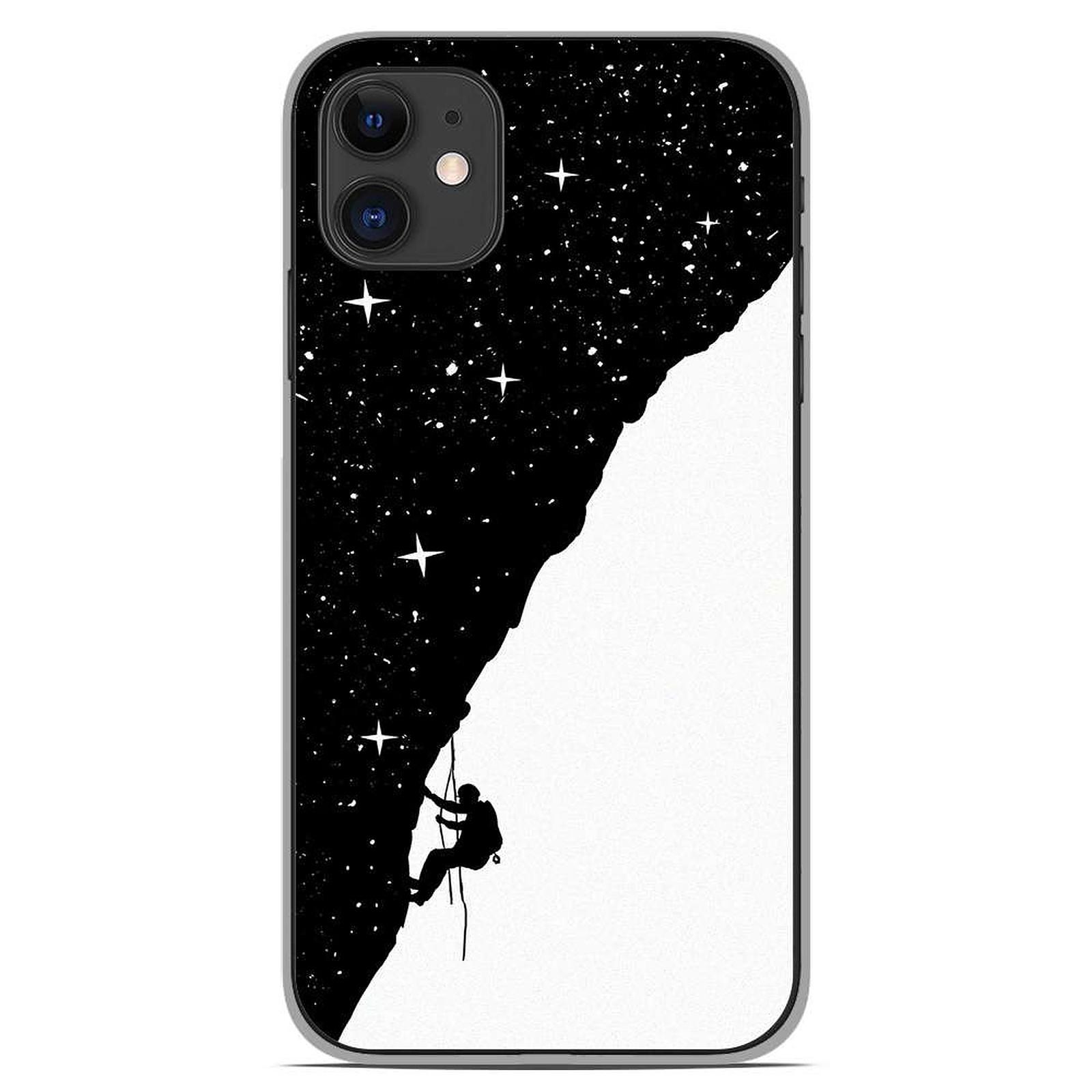 1001 Coques Coque silicone gel Apple iPhone 11 motif BS Nightclimbing