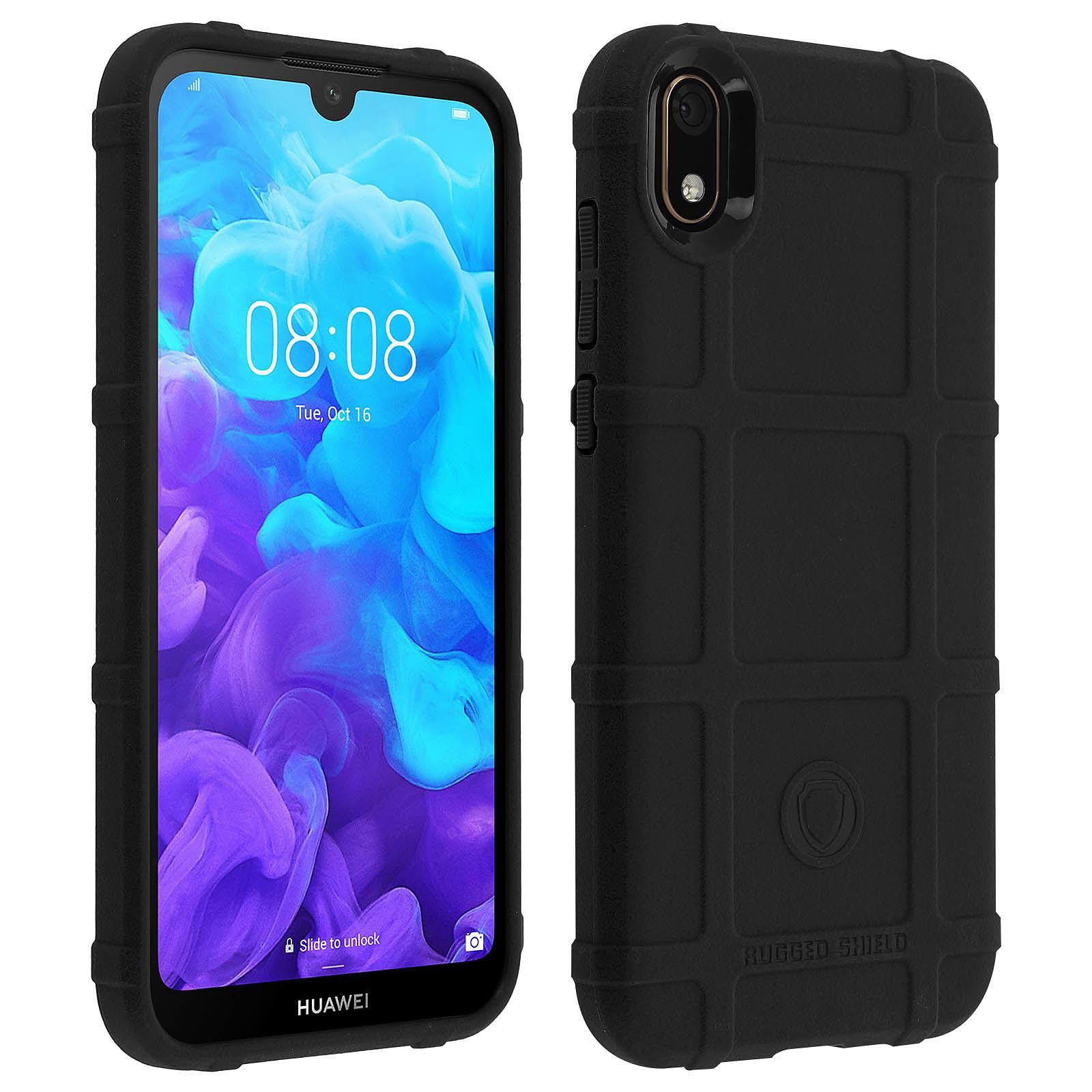 Avizar Coque Noir Antichoc pour Huawei Y5 2019 , Honor 8S