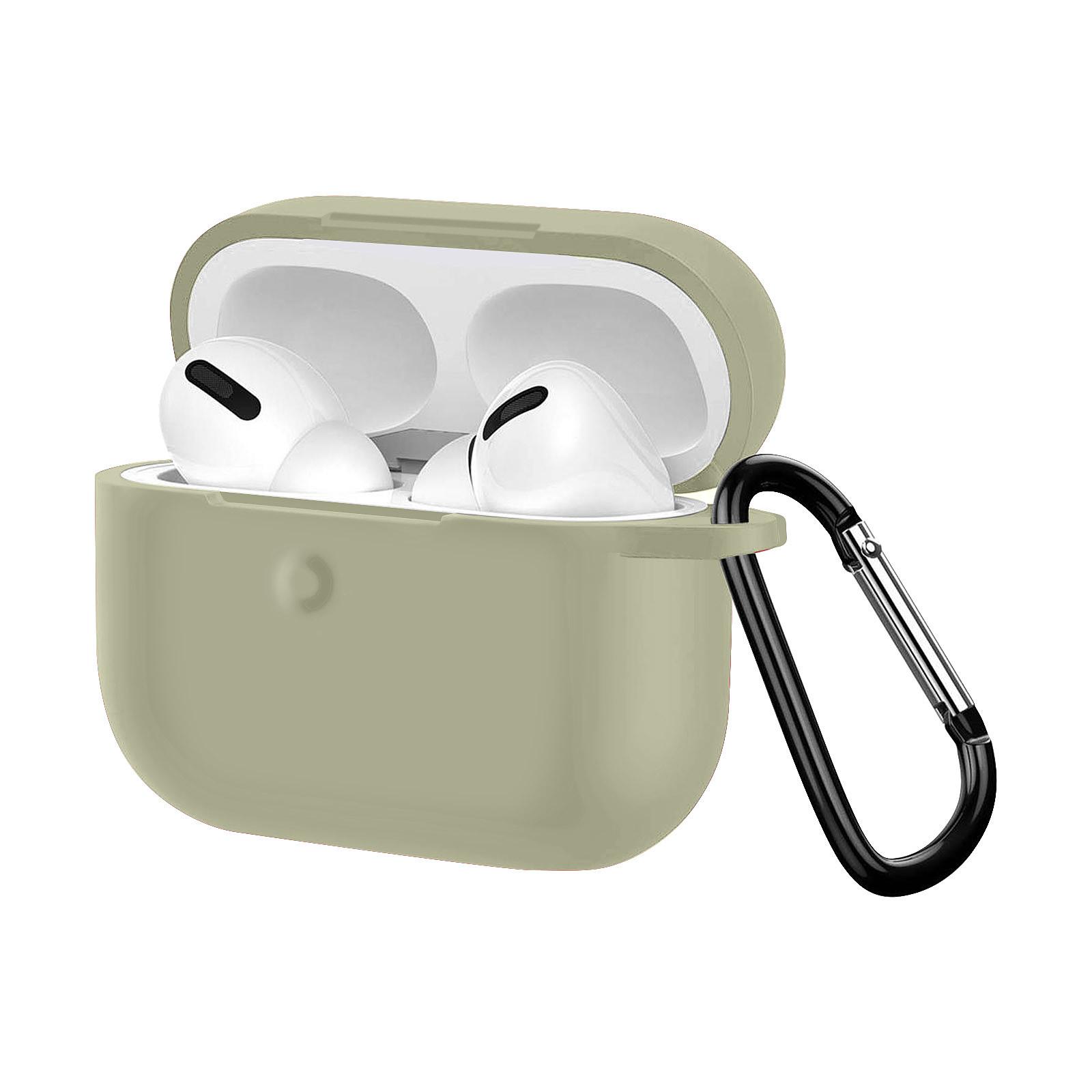Avizar Coque Gris pour Apple AirPods Pro