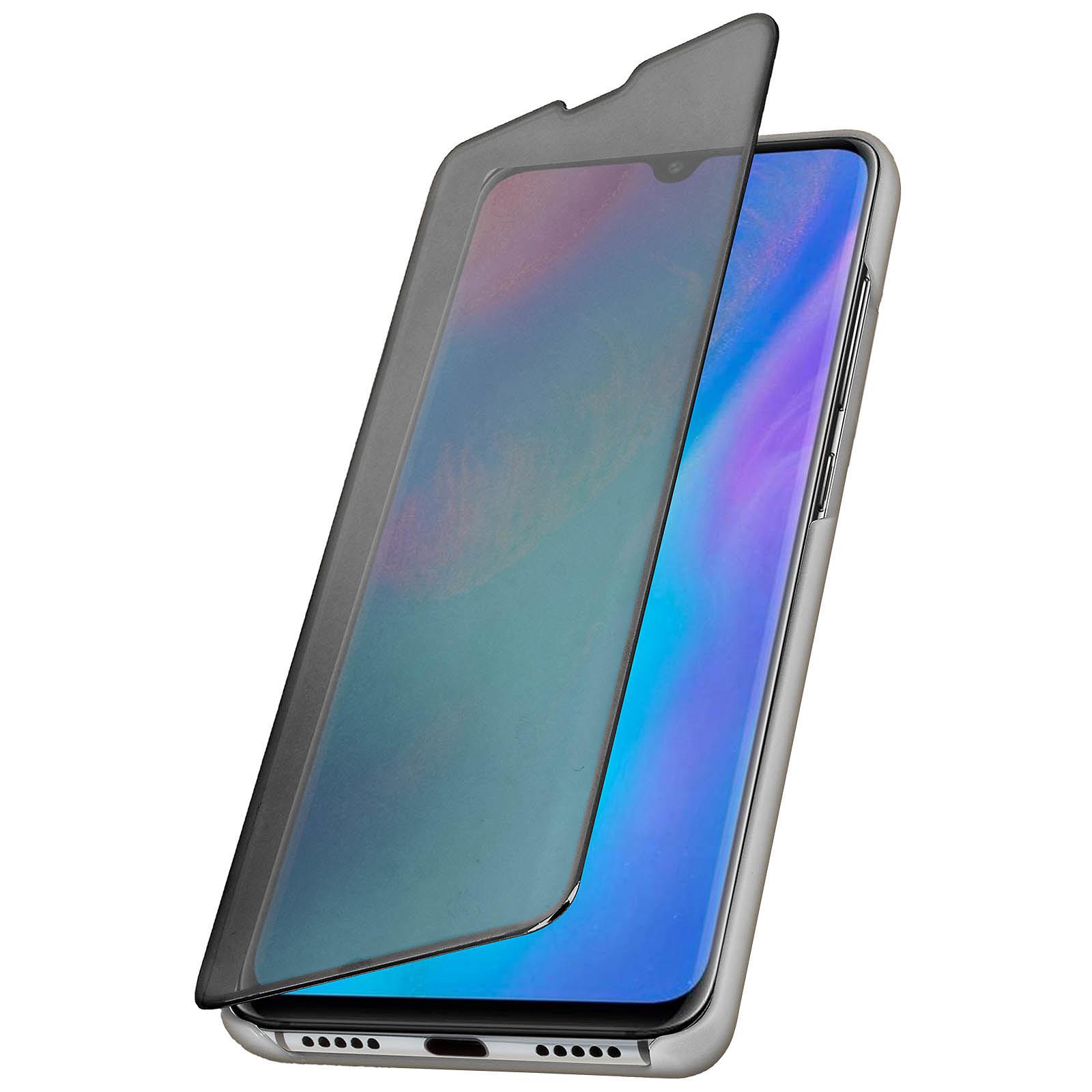 Avizar Etui folio Argent pour Huawei P30 Pro
