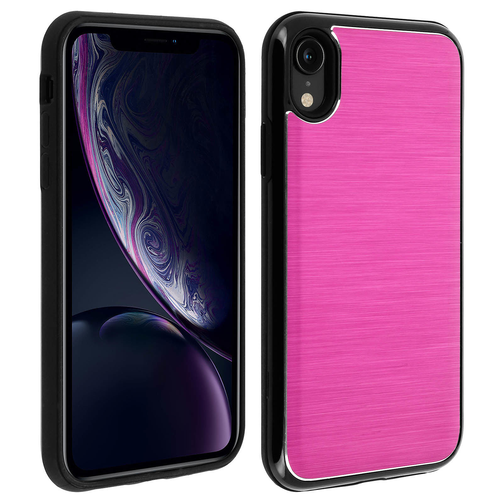 Avizar Coque Rose Hybride pour Apple iPhone XR