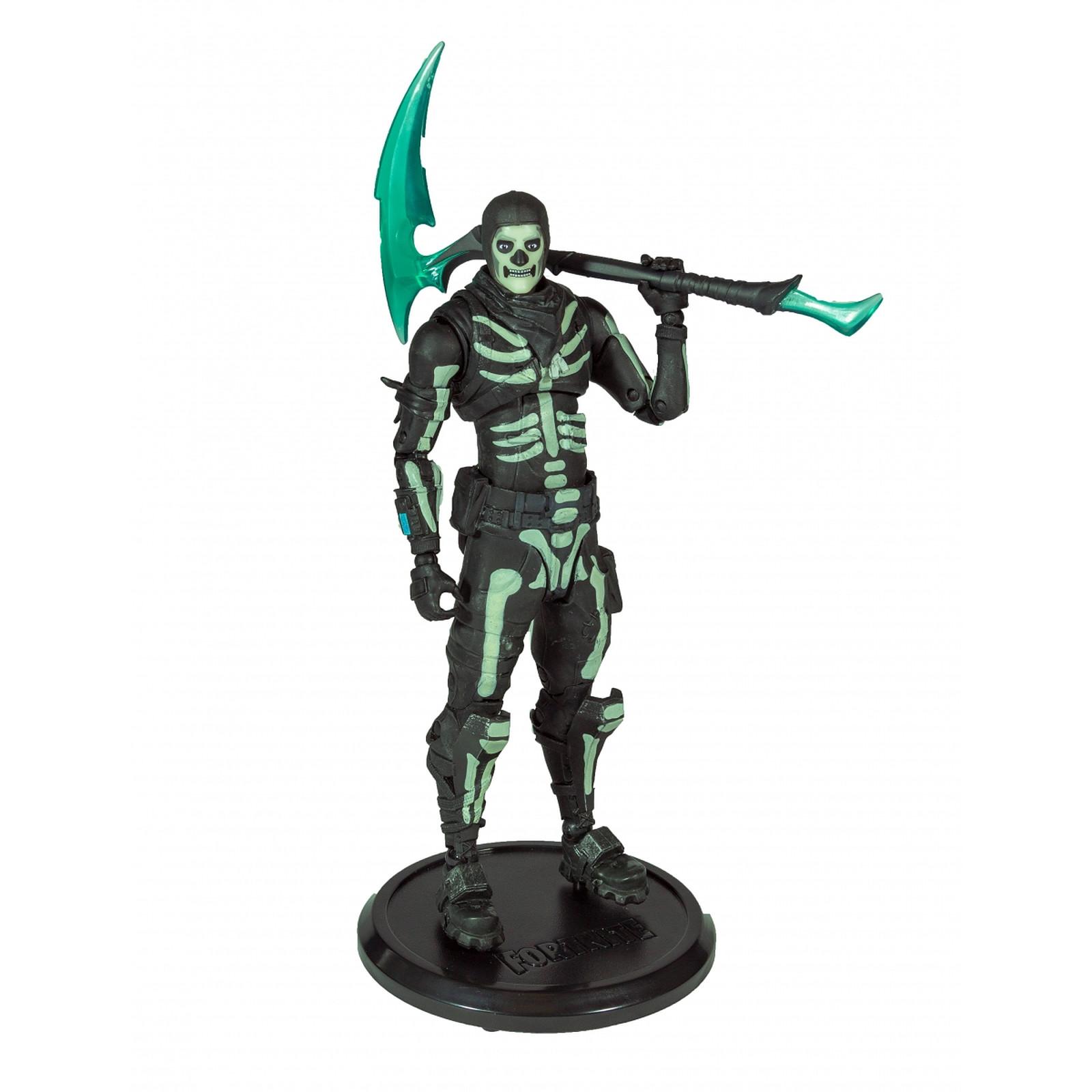 Fortnite - Figurine Green Glow Skull Trooper (Glow-in-the-Dark) Walgreens Exclusive 18 cm