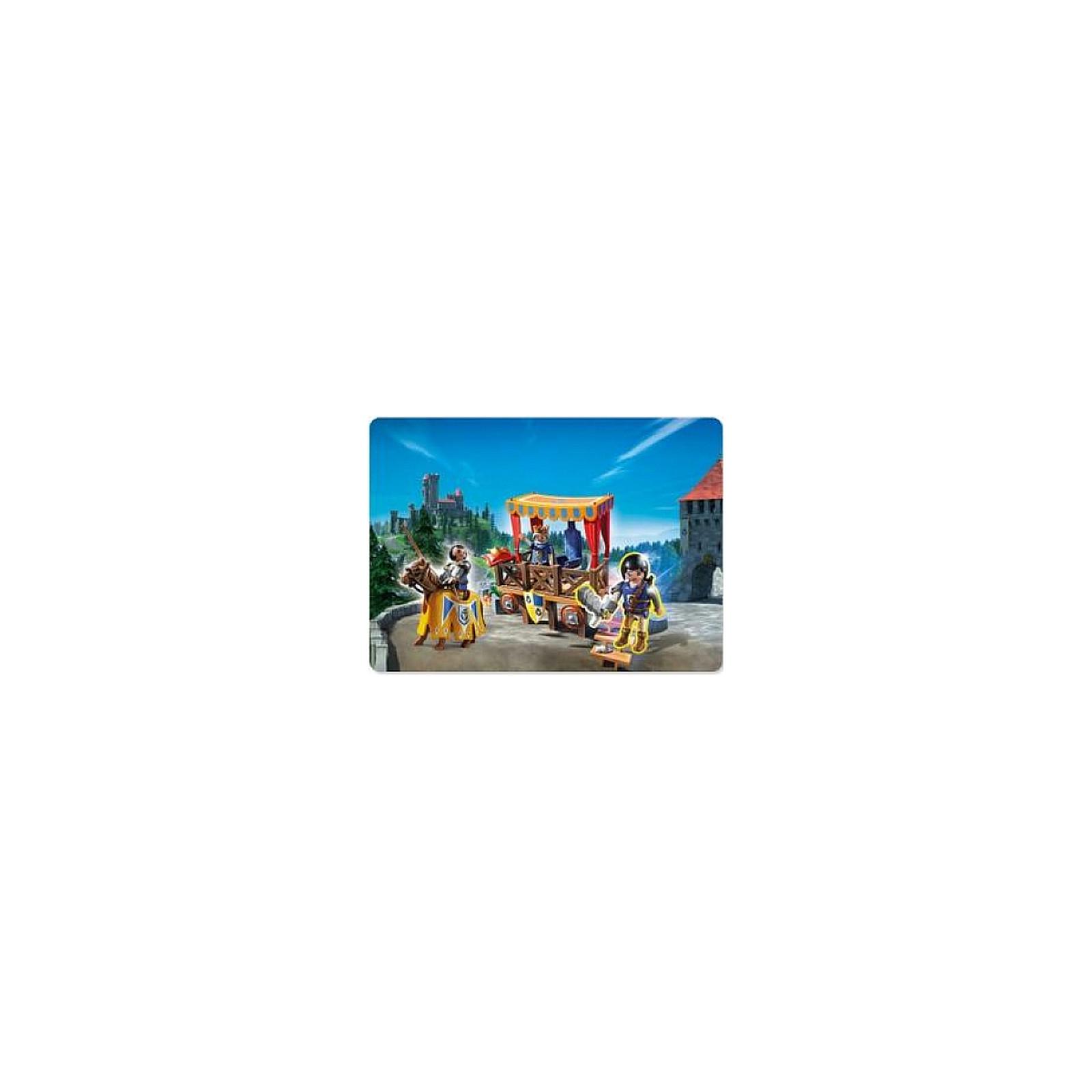 Playmobil Super 4 Tribune Royale avec Alex 6695 Knights Chevalier