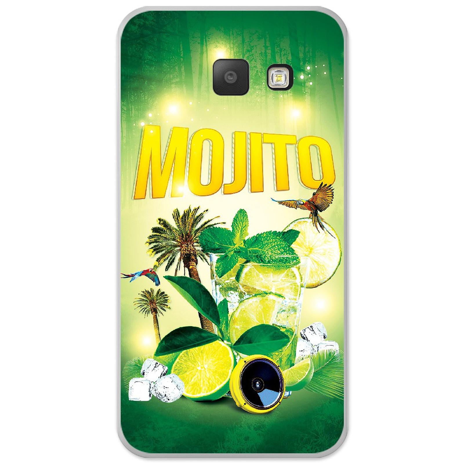 1001 Coques Coque silicone gel Samsung Galaxy A5 2016 motif Mojito forêt - Coque téléphone 1001Coques sur LDLC
